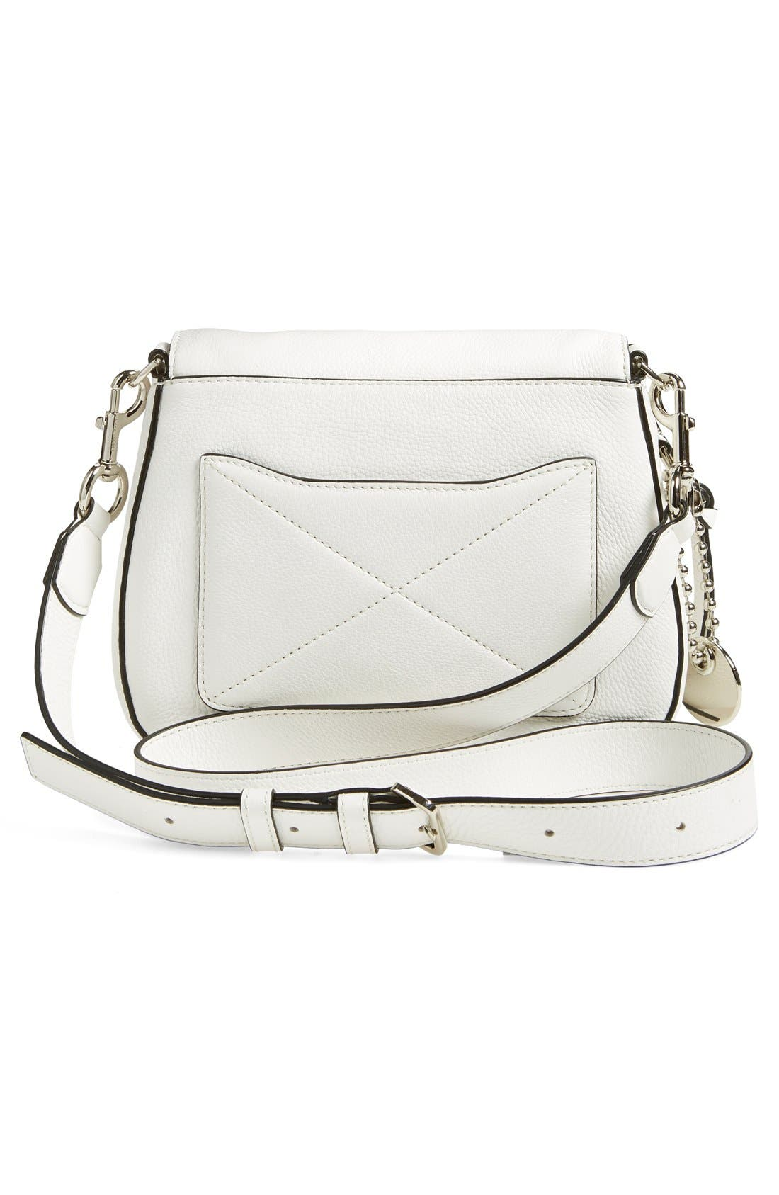Small Recruit Nomad Pebbled Leather Crossbody Bag,                             Alternate thumbnail 42, color,