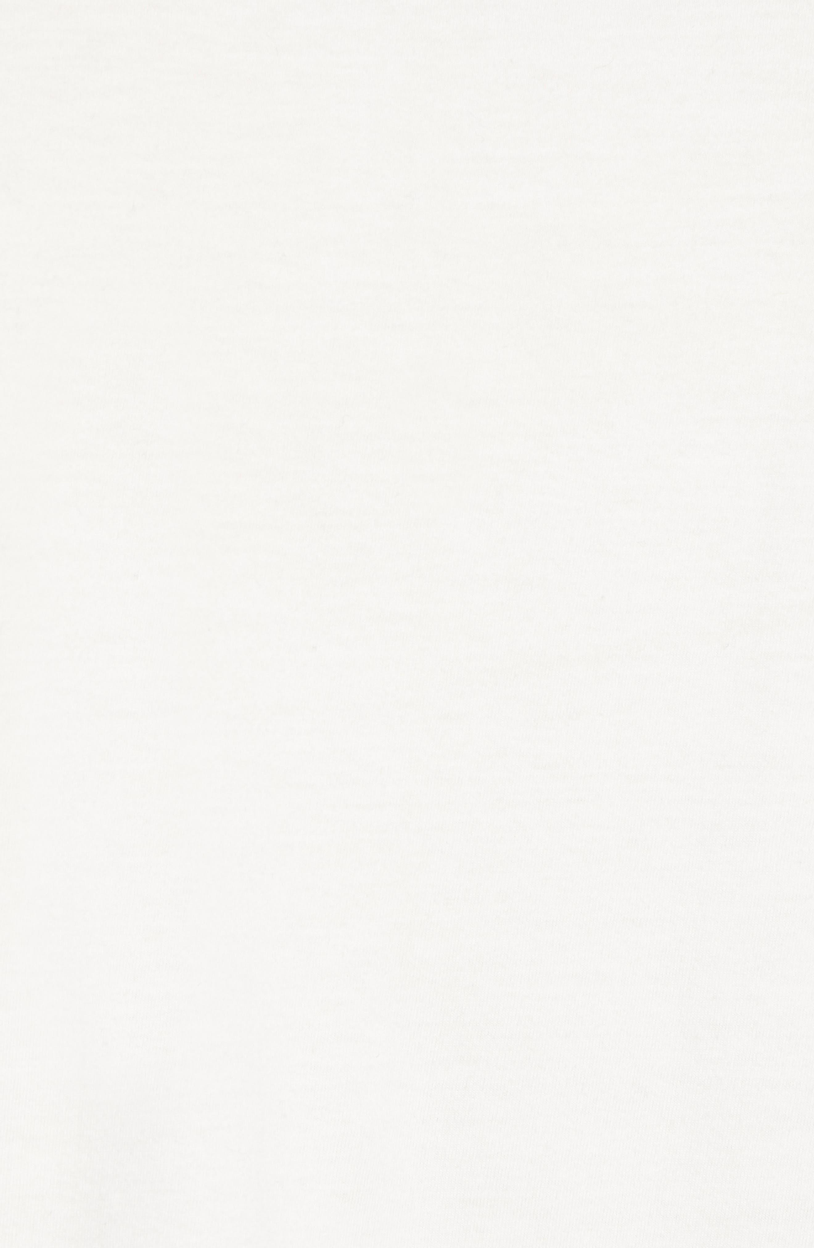 Asymmetrical Colorblock Pocket T-Shirt,                             Alternate thumbnail 5, color,                             CUBA WHITE UTILITY BLUE