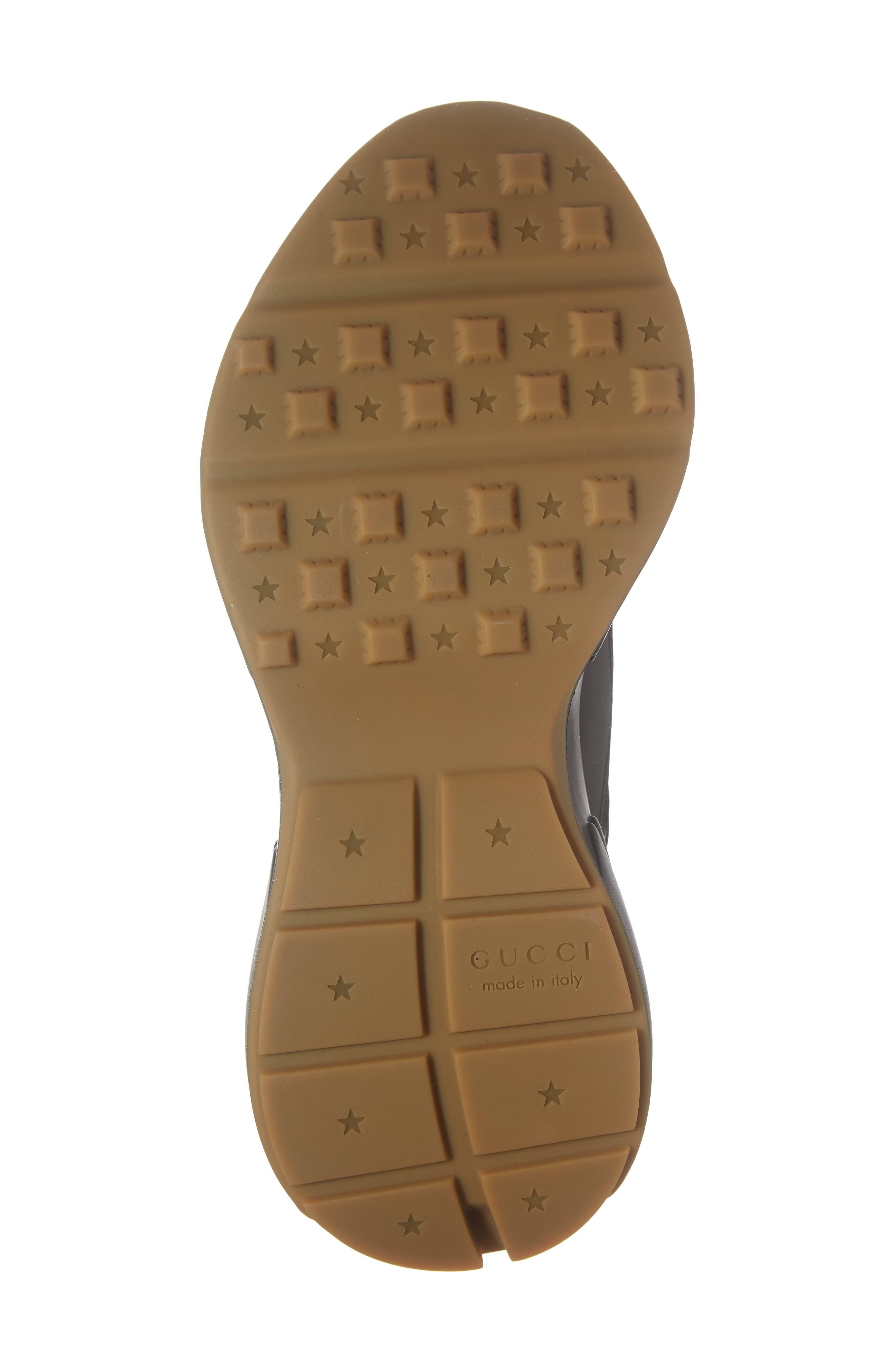 Rhyton Sneaker,                             Alternate thumbnail 6, color,                             BLACK/ BLACK