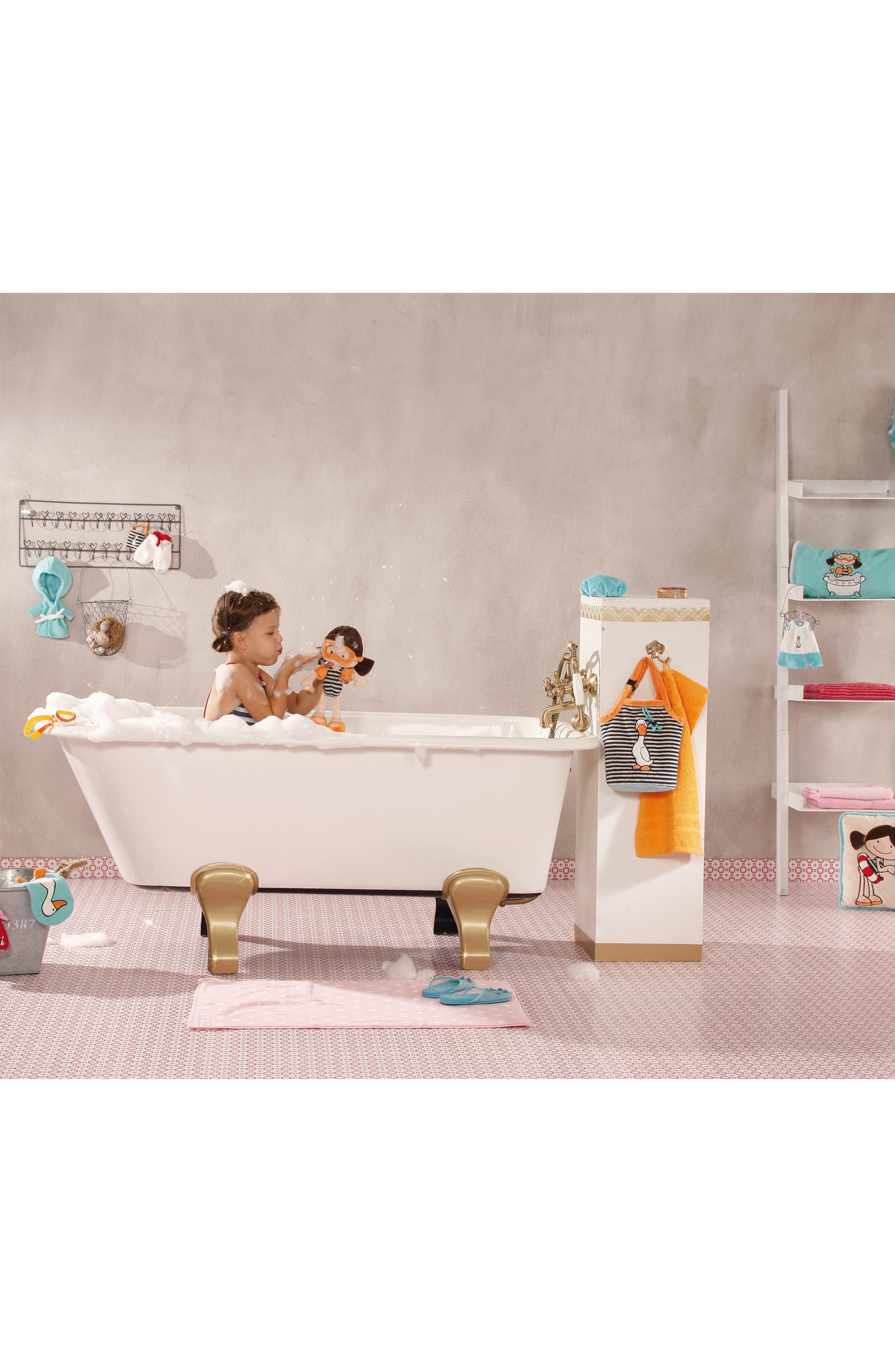 Neat Oh! Nici<sup>®</sup> Wonderland Minilotta the Bathing Plush Doll,                             Alternate thumbnail 3, color,                             400