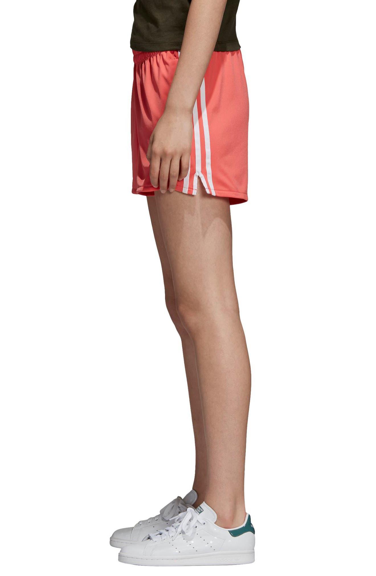 ADIDAS ORIGINALS,                             3-Stripes Shorts,                             Alternate thumbnail 3, color,                             600