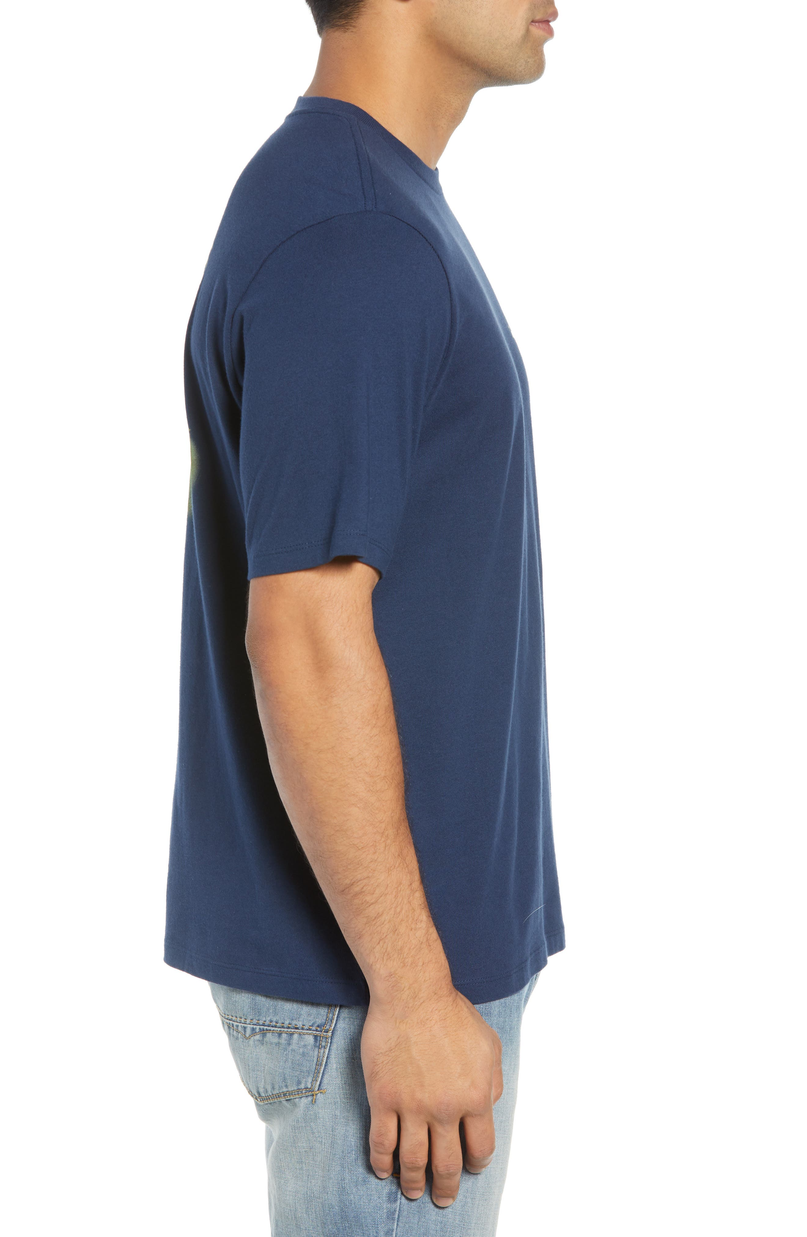 Absolute Parfection T-Shirt,                             Alternate thumbnail 3, color,                             NAVY