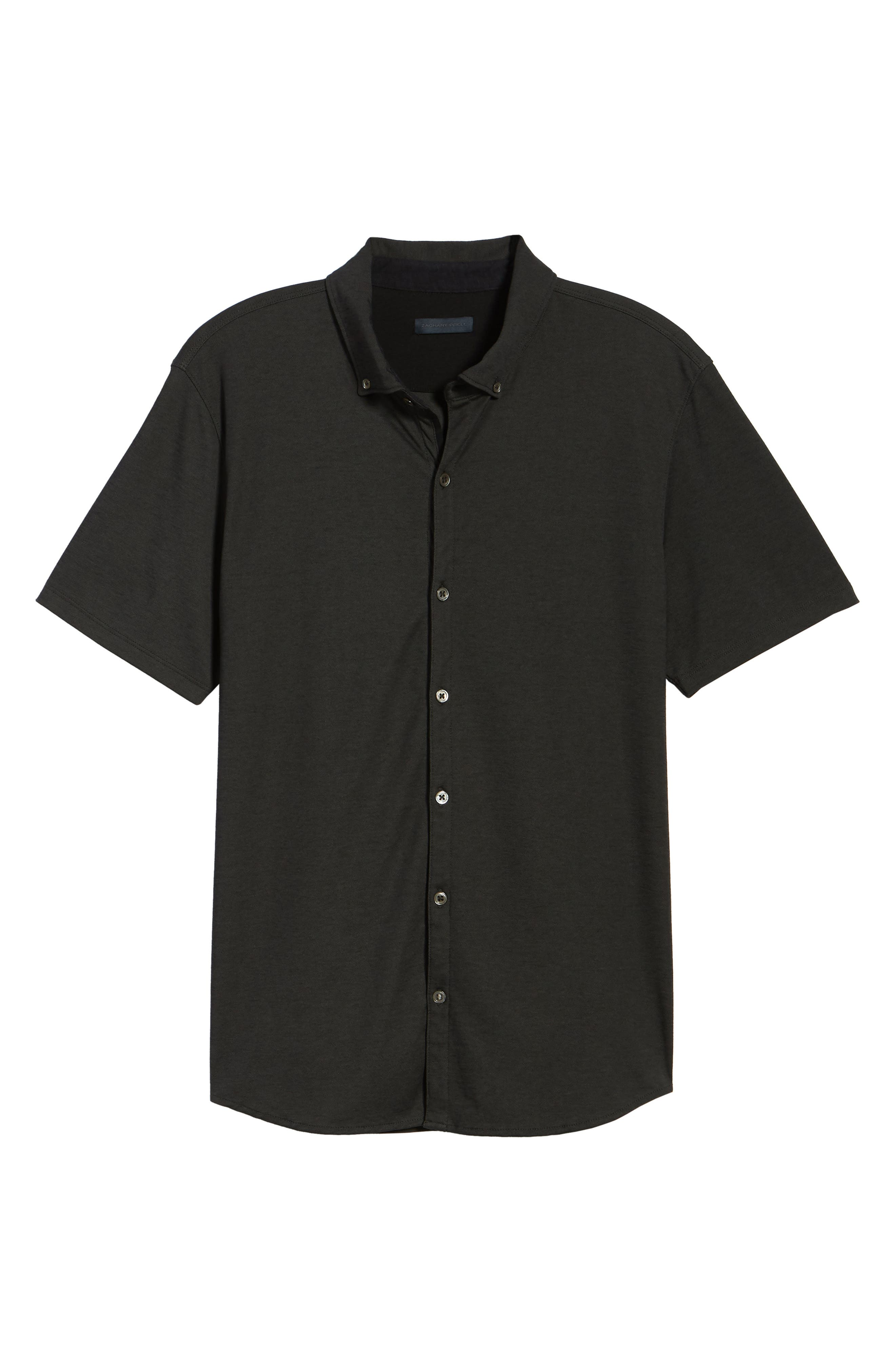 Caruth Piqué Sport Shirt,                             Alternate thumbnail 6, color,                             021
