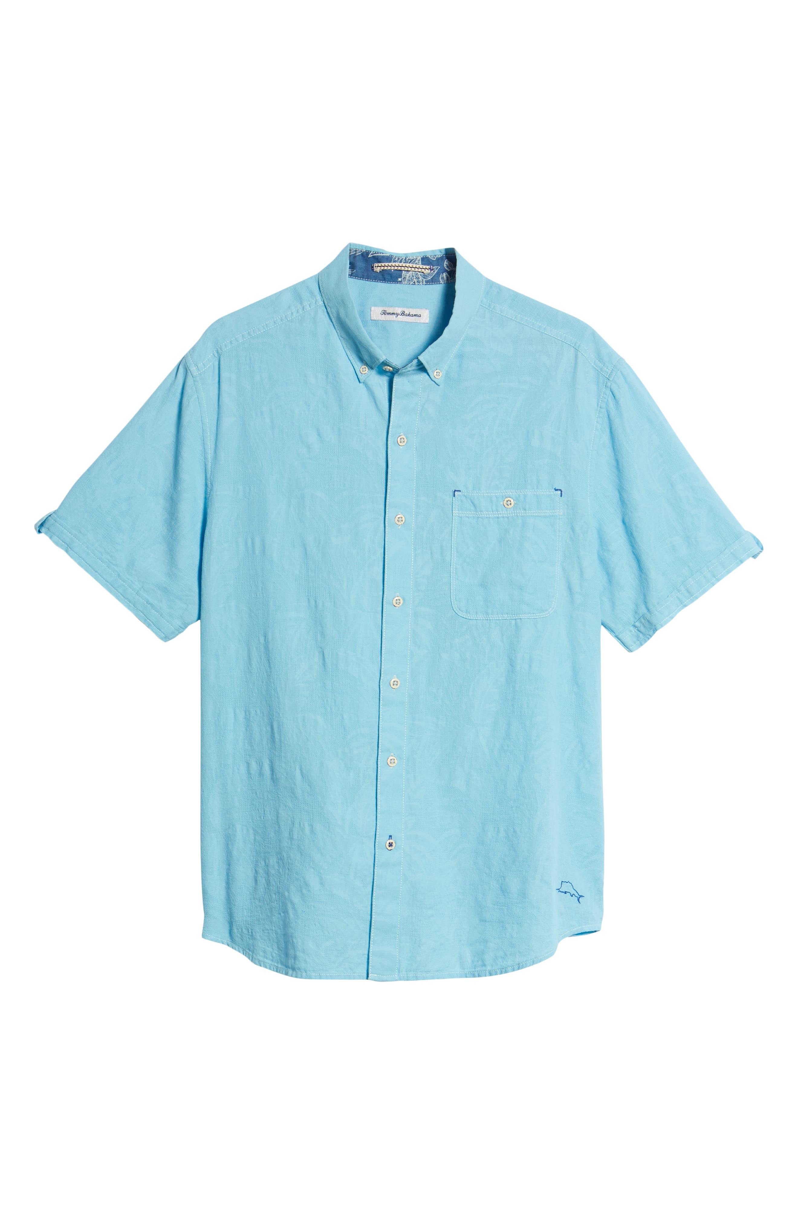 Desert Fronds Sport Shirt,                             Alternate thumbnail 28, color,
