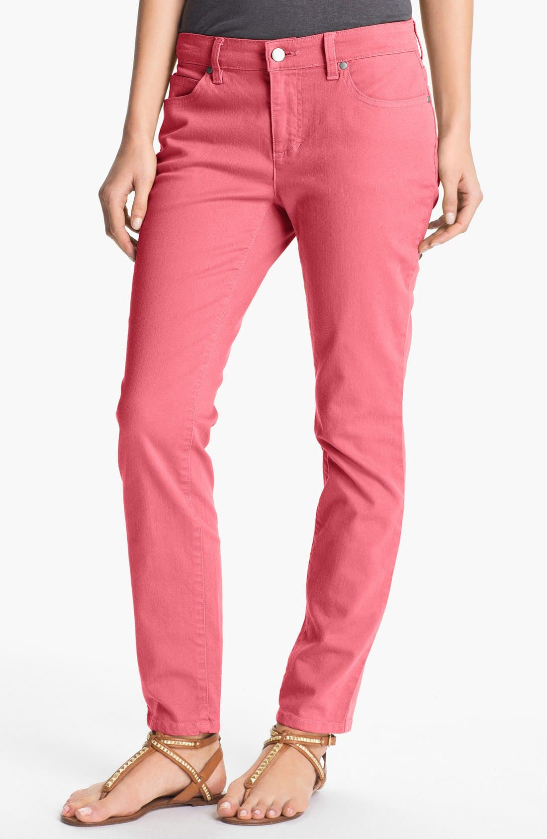 Skinny Ankle Jeans,                             Main thumbnail 15, color,