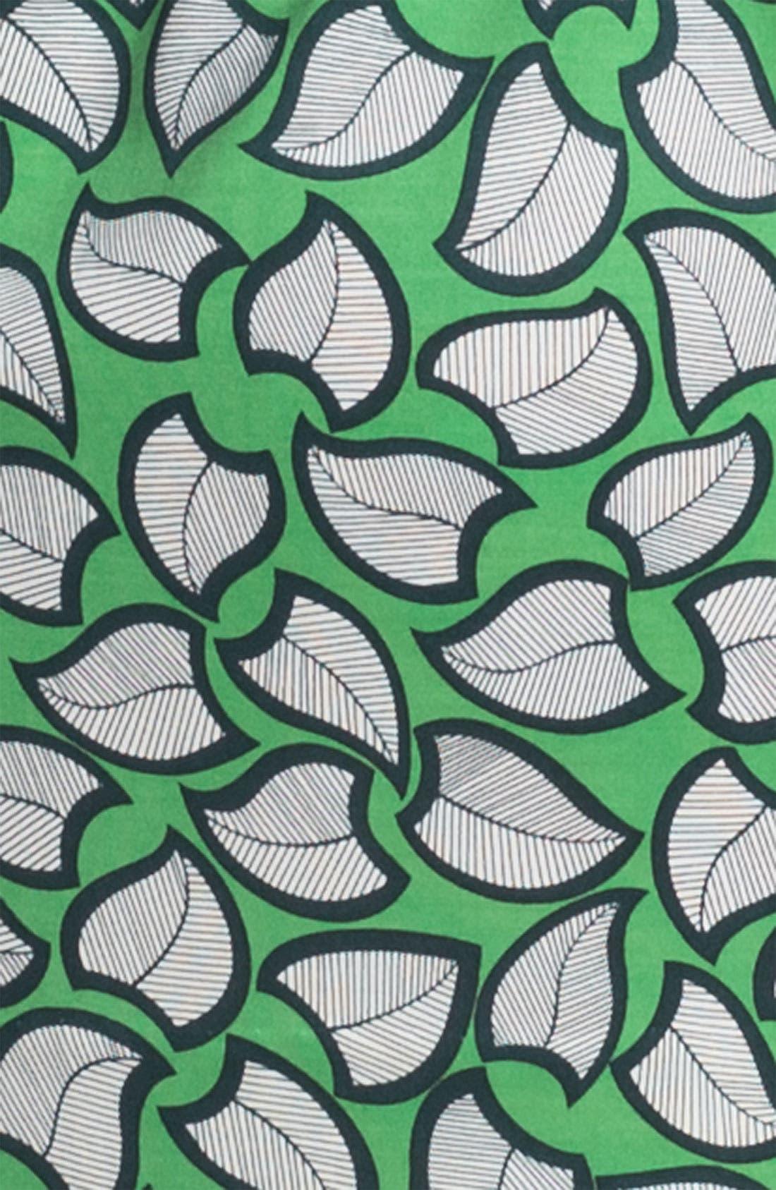 'Leanna' Silk Shirtdress,                             Alternate thumbnail 3, color,                             357
