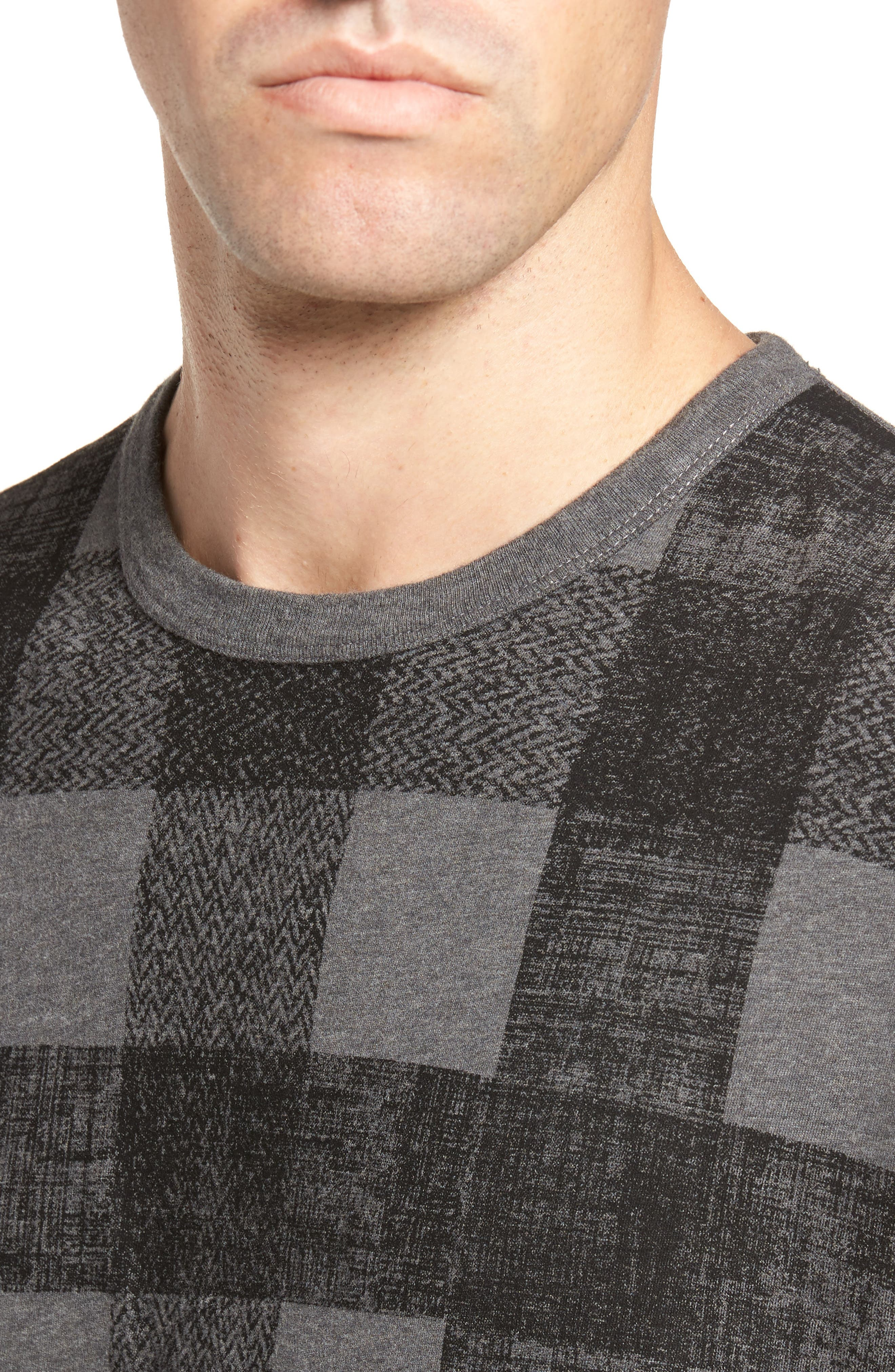 Texas Check Regular Fit T-Shirt,                             Alternate thumbnail 4, color,