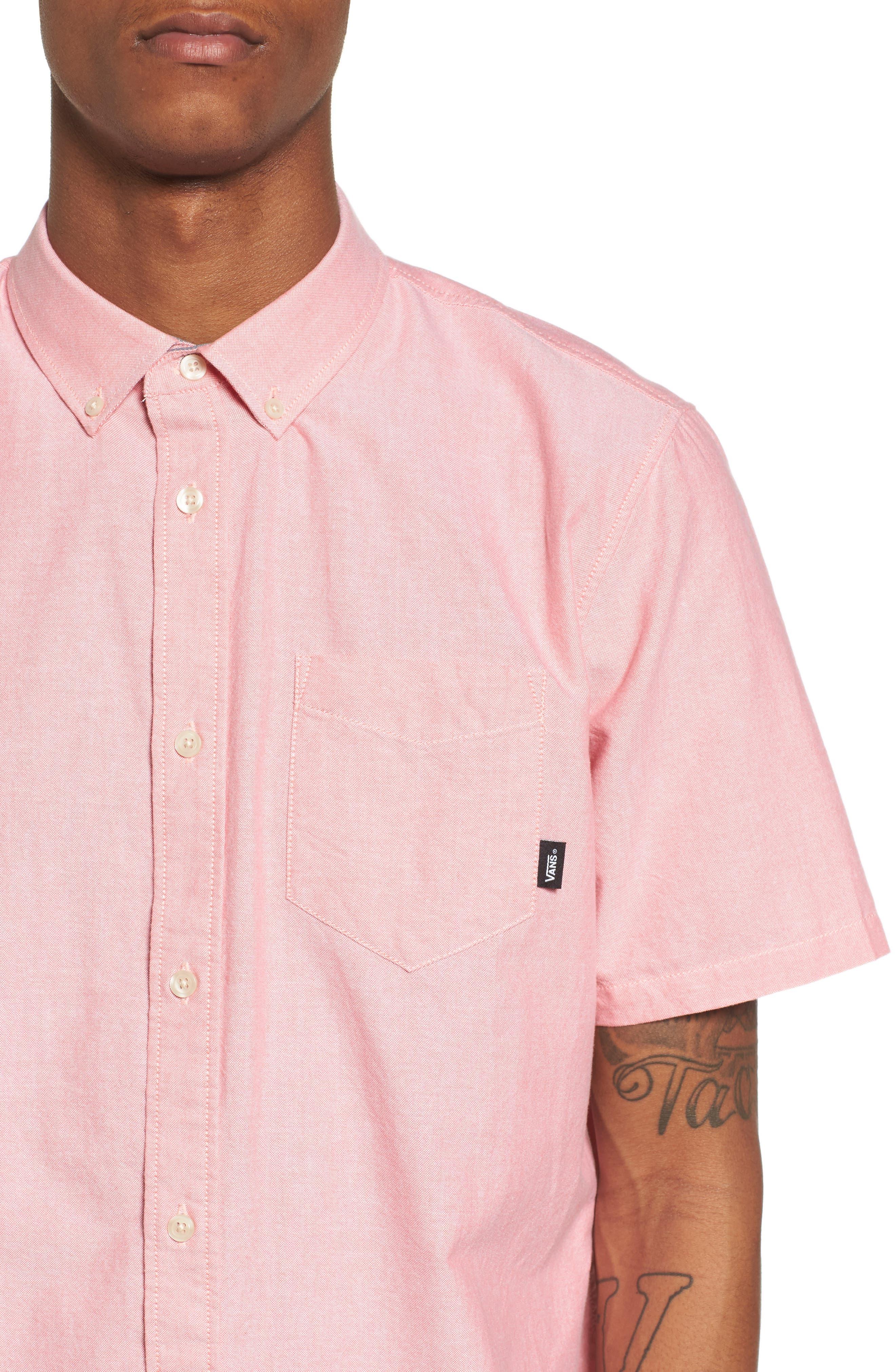 Houser Solid Woven Shirt,                             Alternate thumbnail 4, color,                             950