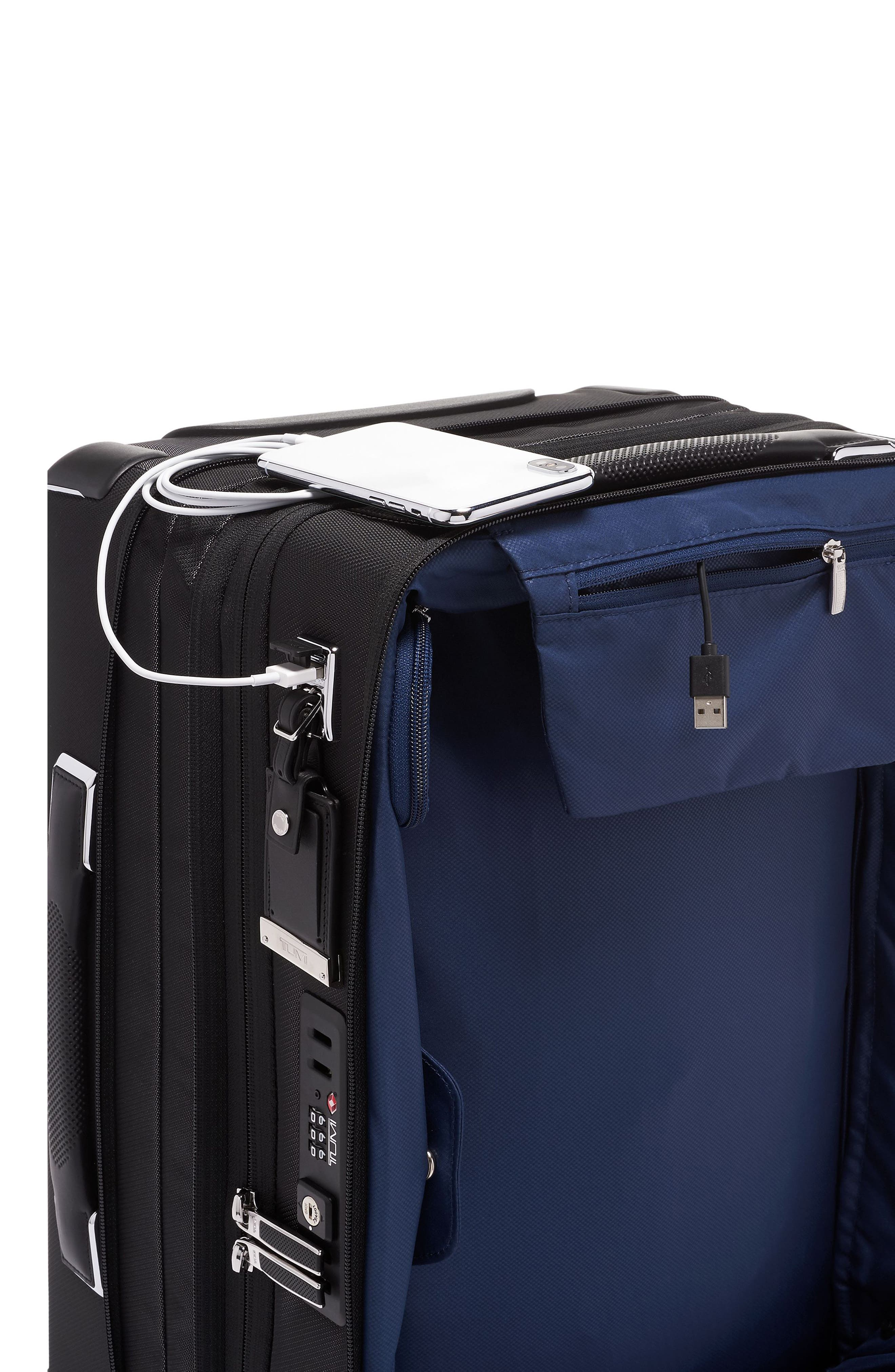 Arrivé 22-Inch International Rolling Carry-On,                             Alternate thumbnail 5, color,                             PEWTER