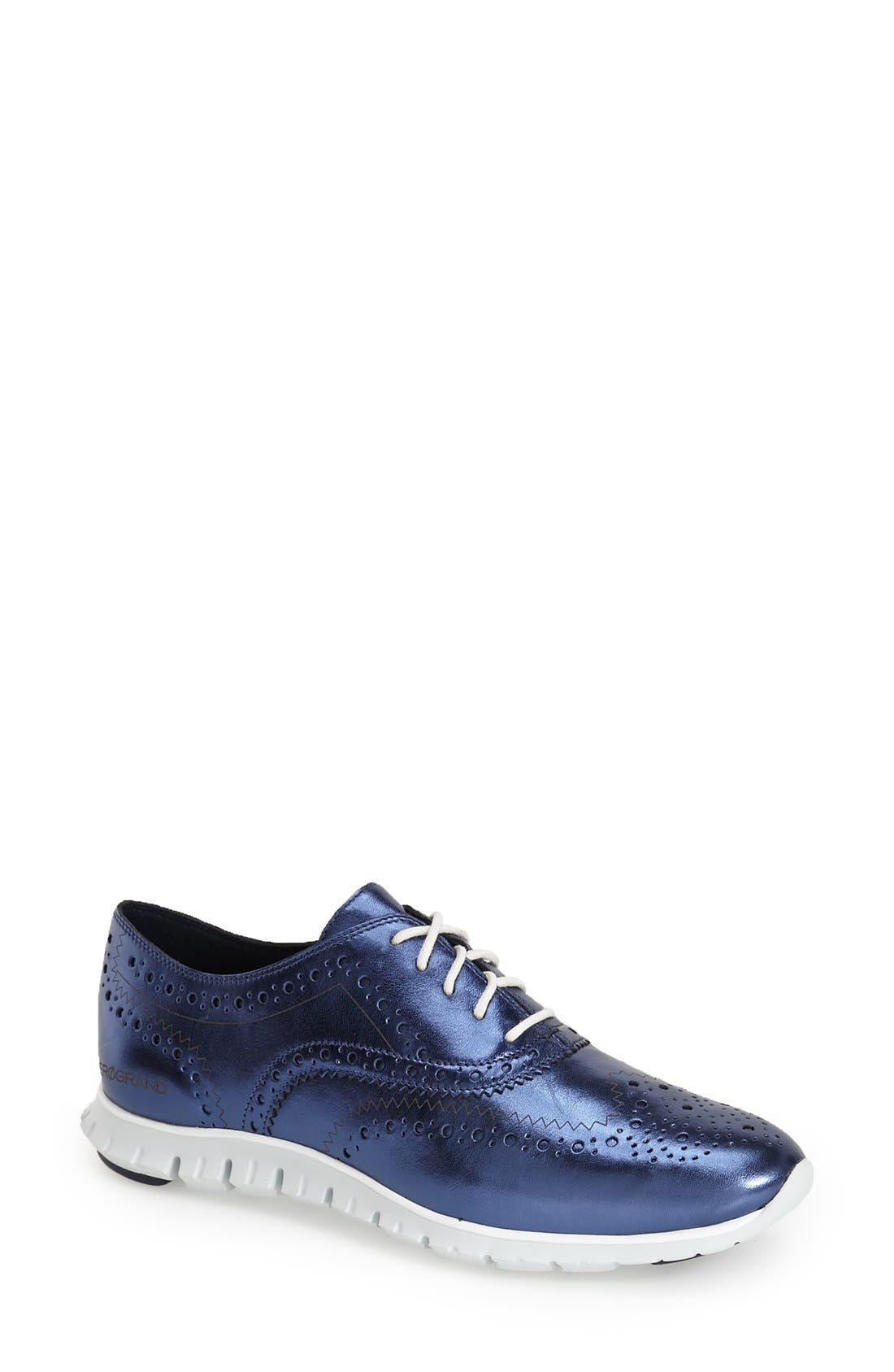 'ZeroGrand' Perforated Wingtip,                             Main thumbnail 18, color,