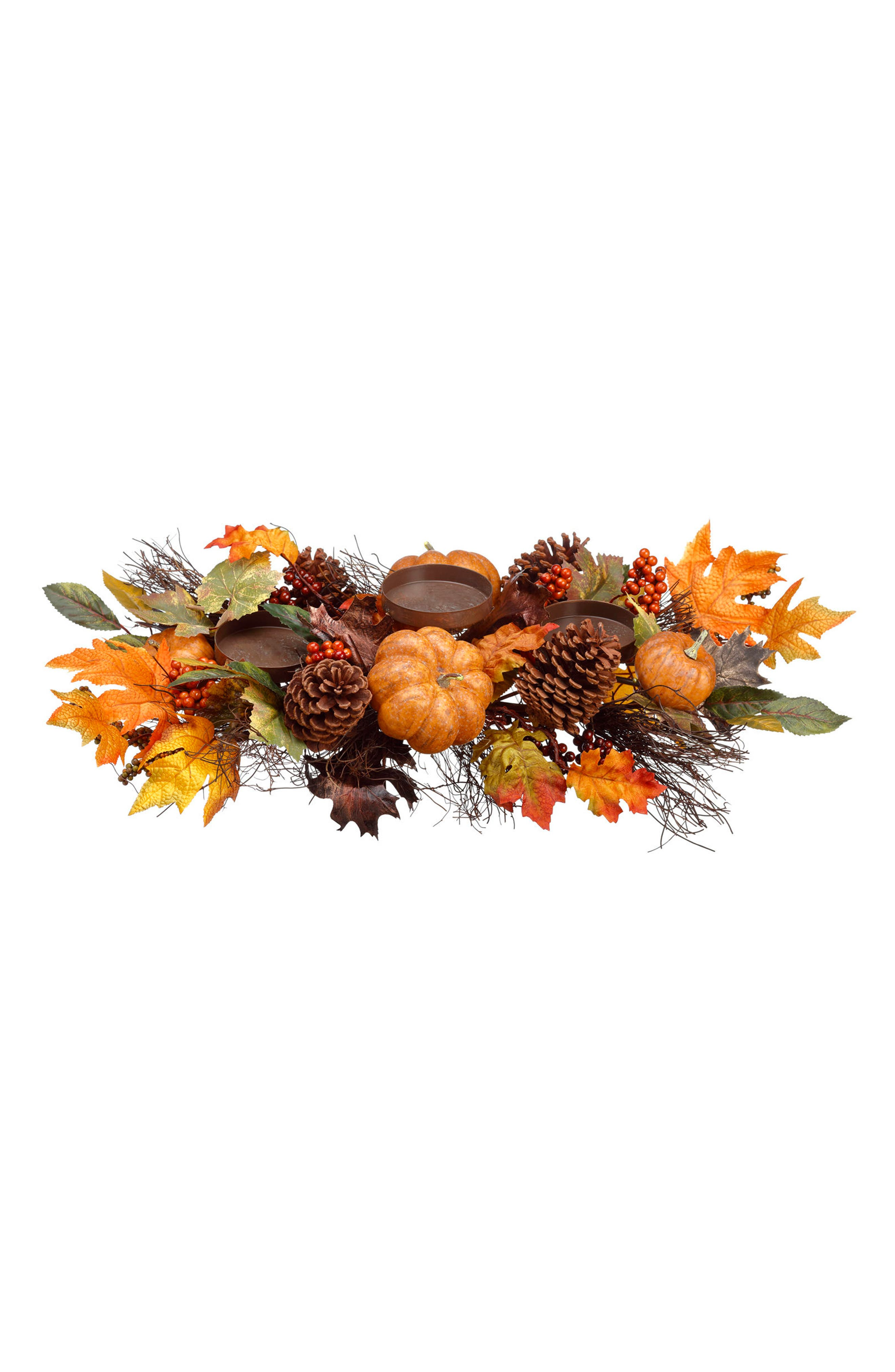 Berry Pumpkin Candle Holder,                         Main,                         color, 800