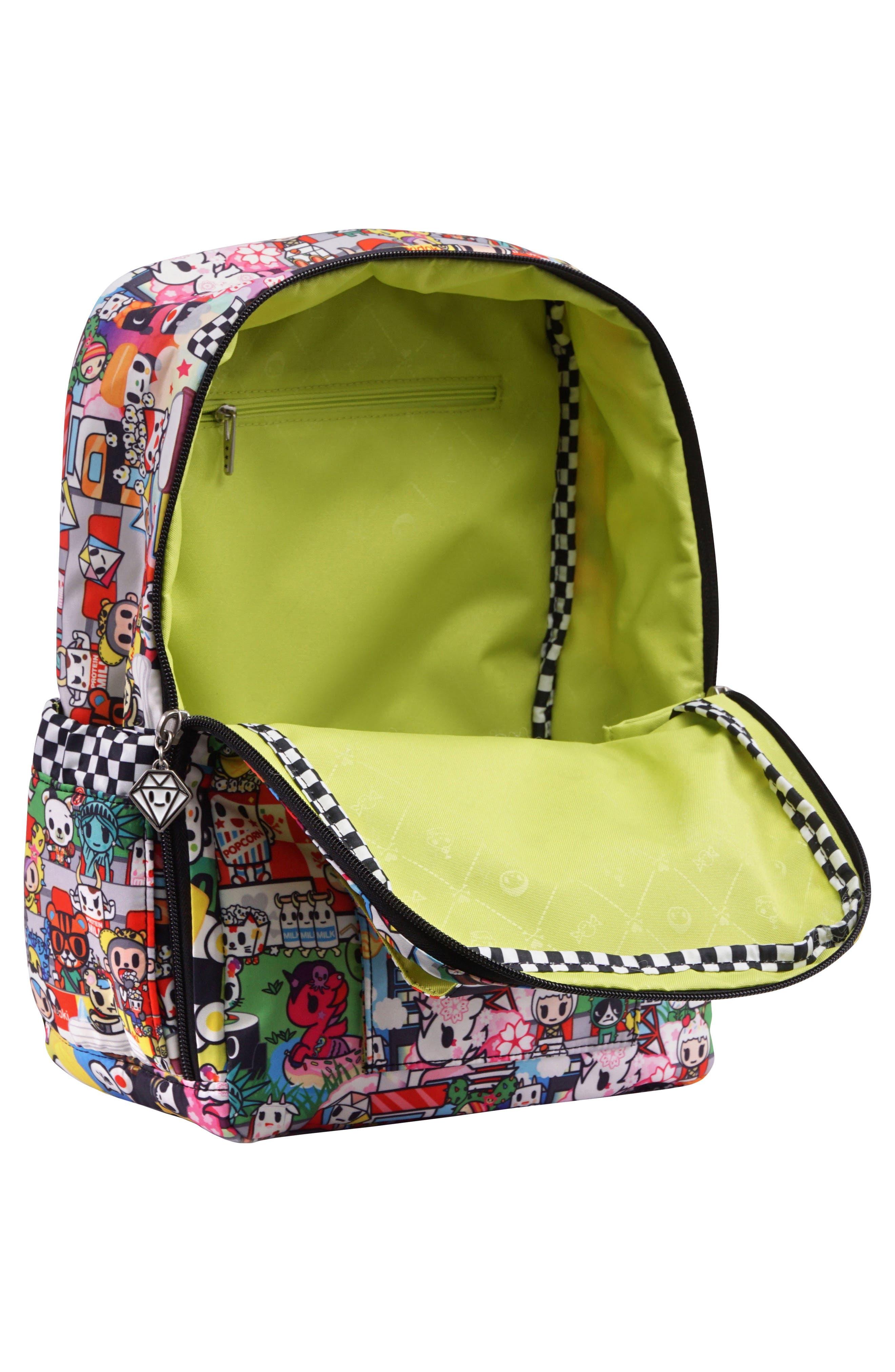 tokidoki x Ju-Ju-Be 'Mini Be' Backpack,                             Alternate thumbnail 3, color,                             SUSHI CARS