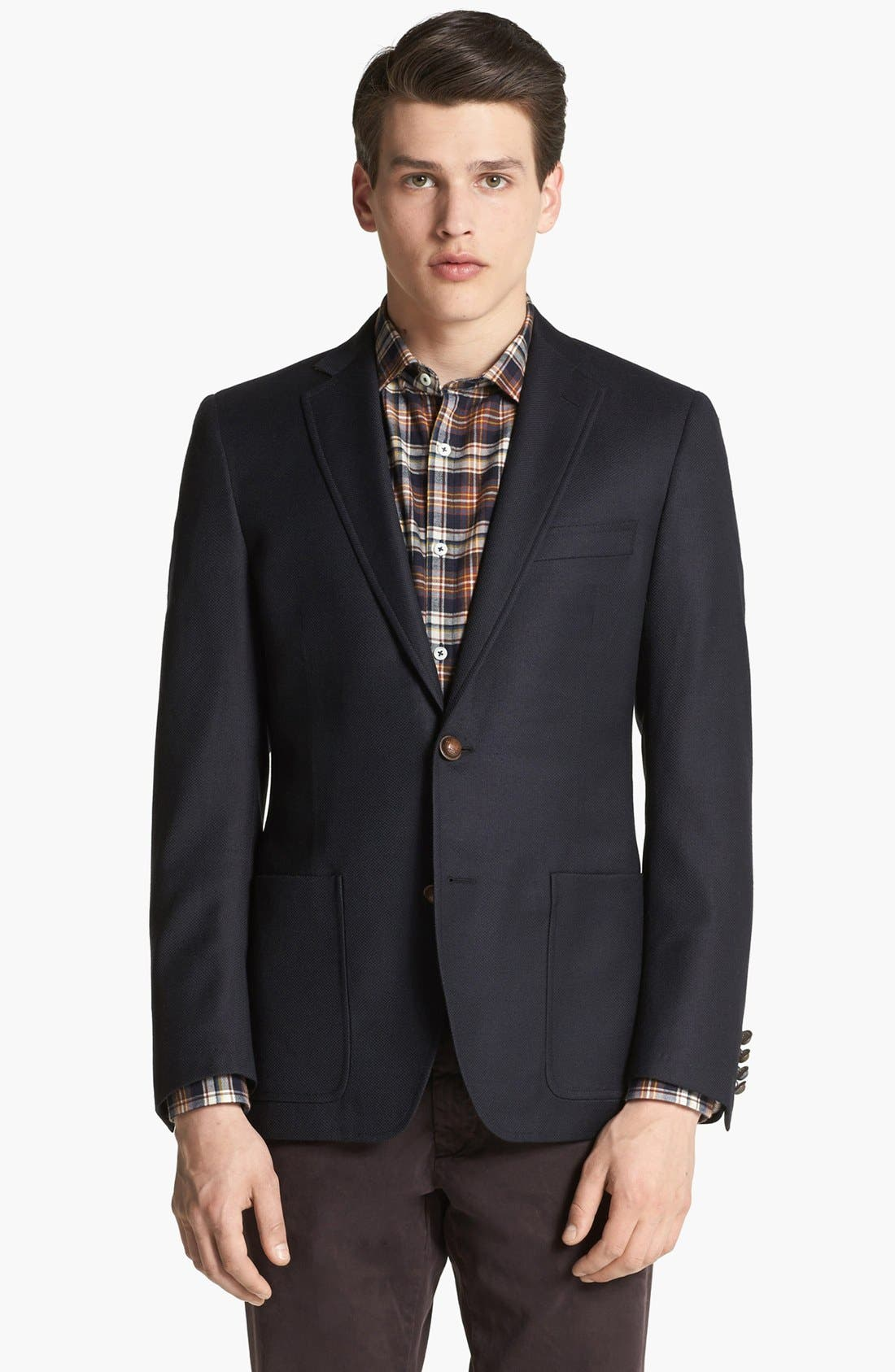 BILLY REID 'Campbell' Wool Sportcoat, Main, color, 410