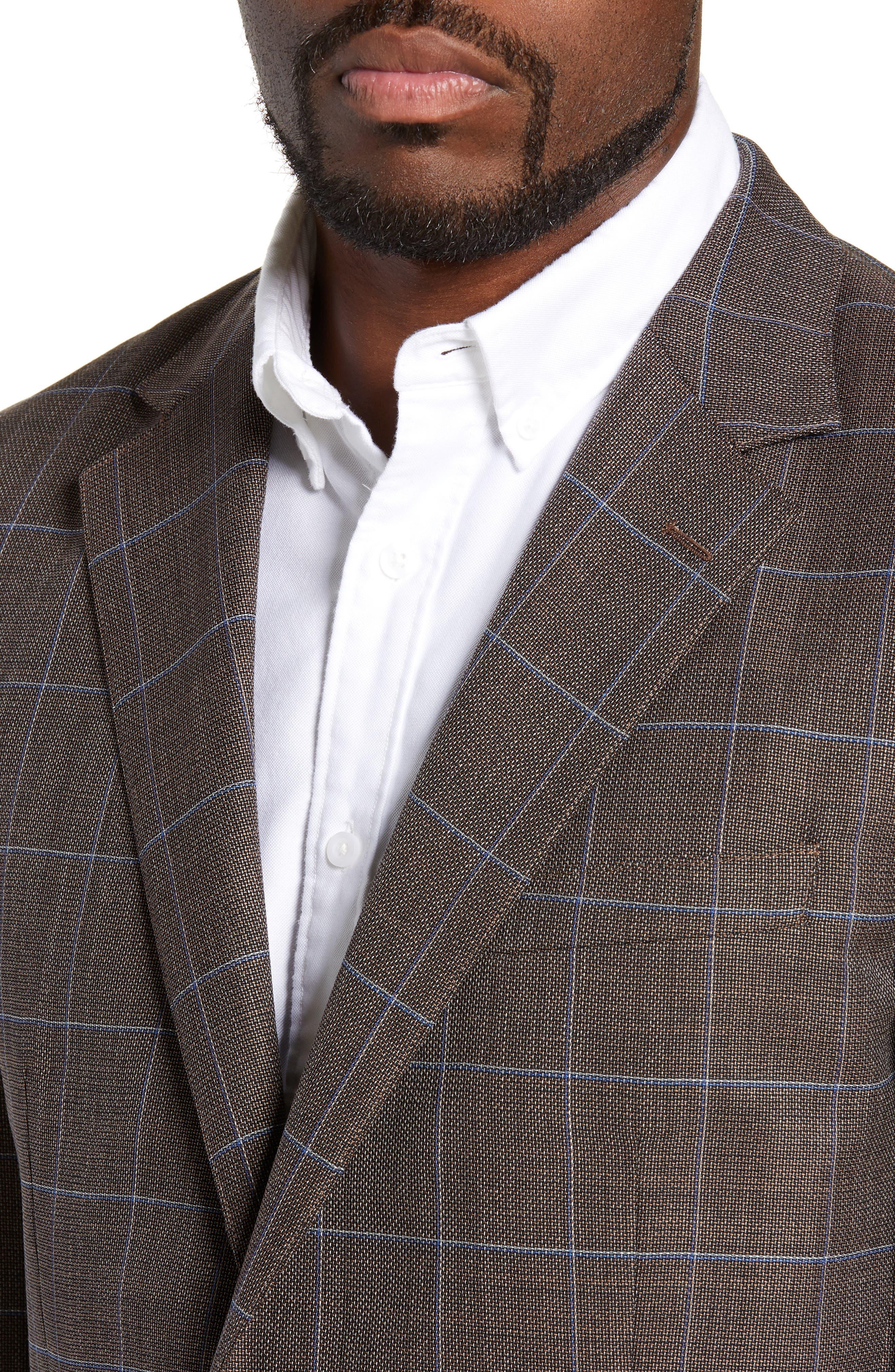 BONOBOS,                             Slim Fit Unconstructed Wool Sport Coat,                             Alternate thumbnail 4, color,                             250