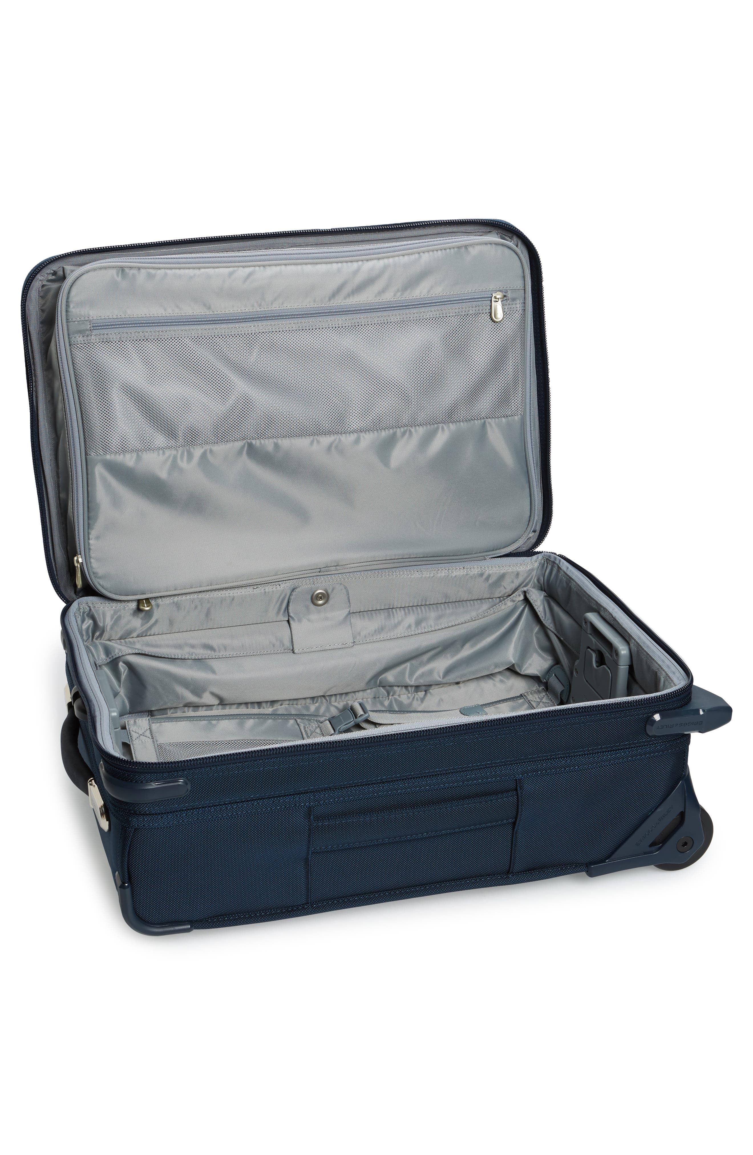 Baseline 22-Inch Wheeled Domestic Carry-On,                             Alternate thumbnail 2, color,                             NAVY