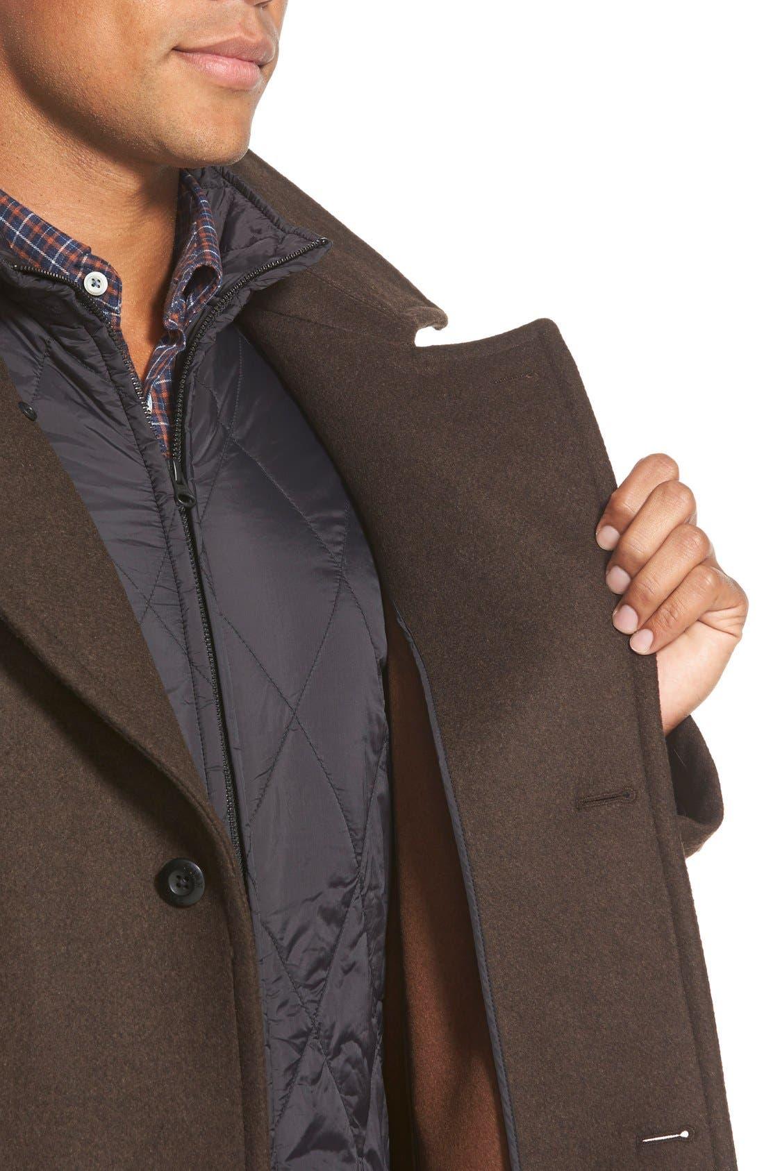 'Westown' 3-in-1 Wool Blend Coat,                             Alternate thumbnail 3, color,