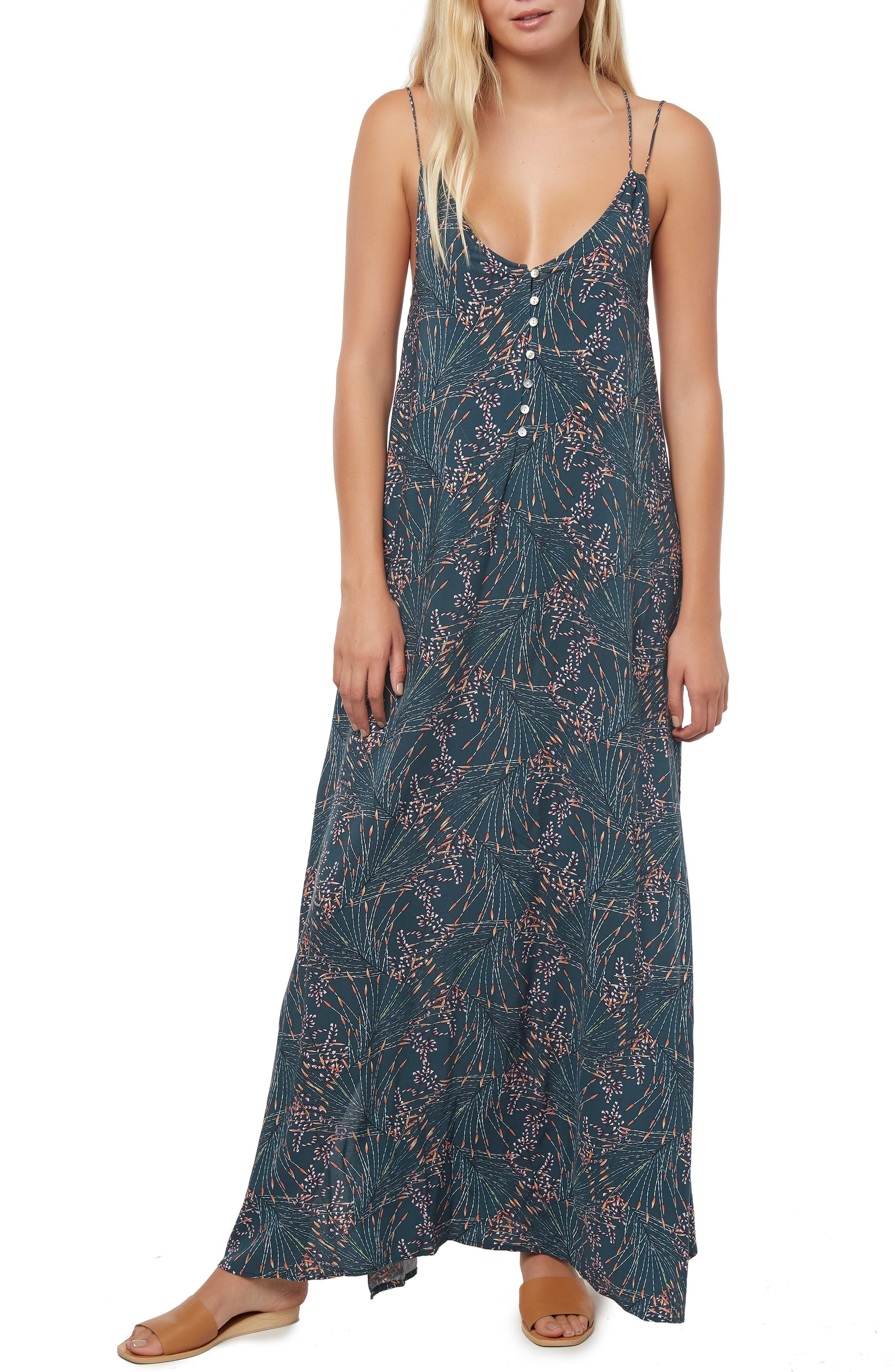 O'NEILL,                             Breanna Maxi Dress,                             Alternate thumbnail 5, color,                             STARGAZER