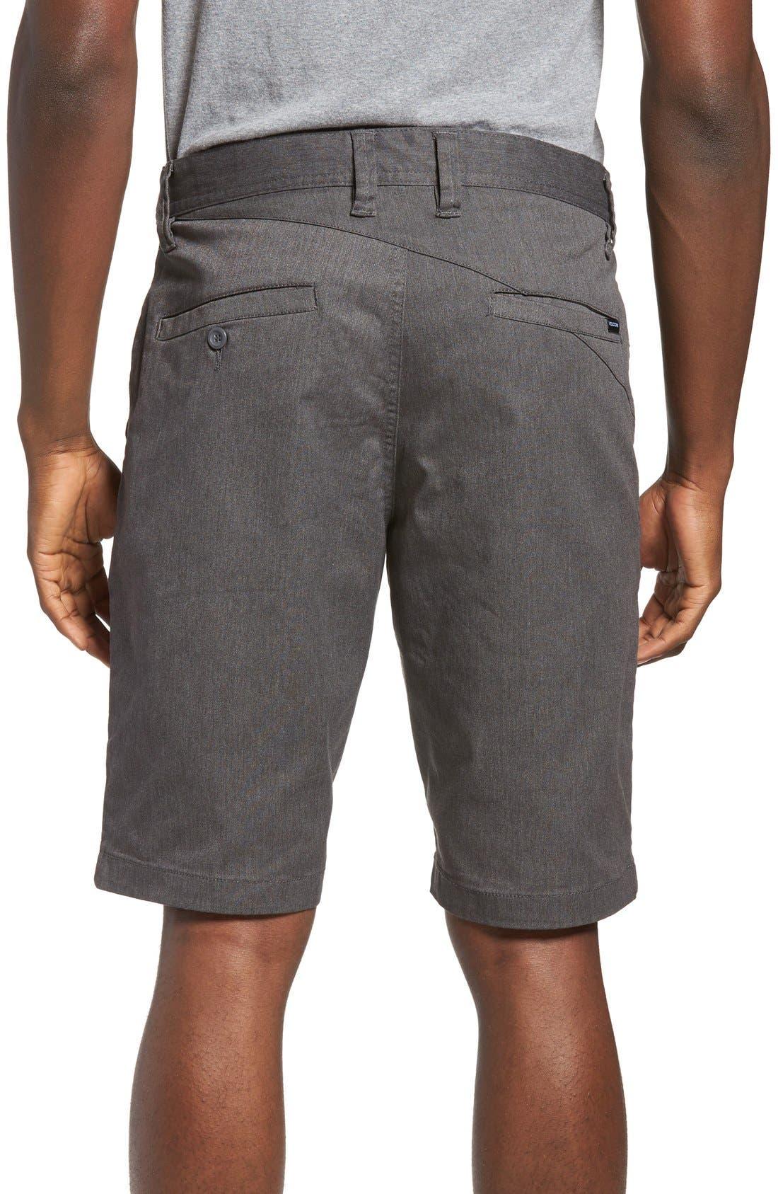 'Modern' Stretch Chino Shorts,                             Alternate thumbnail 17, color,