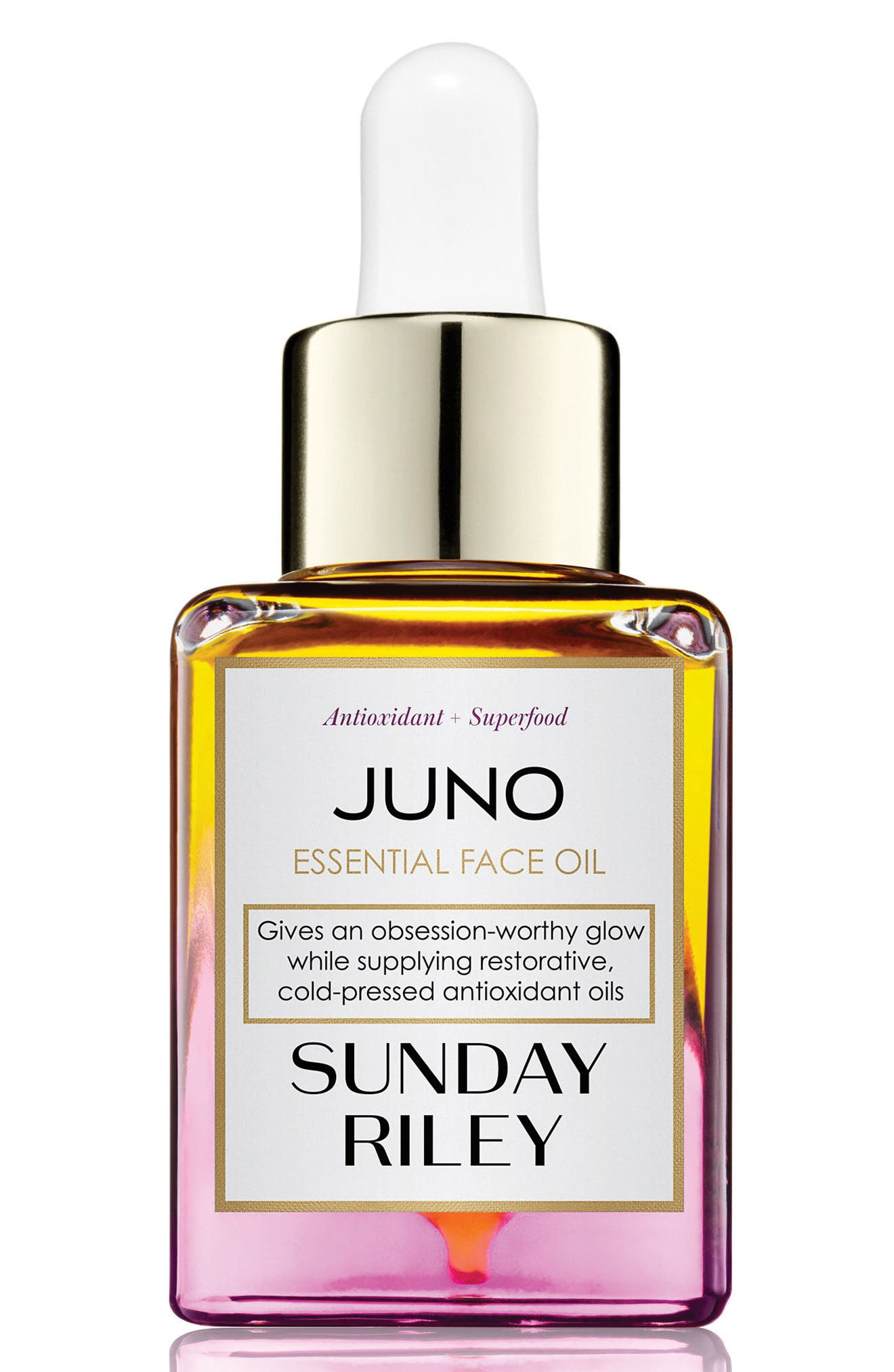 SPACE.NK.apothecary Sunday Riley Juno Essential Face Oil,                             Main thumbnail 1, color,