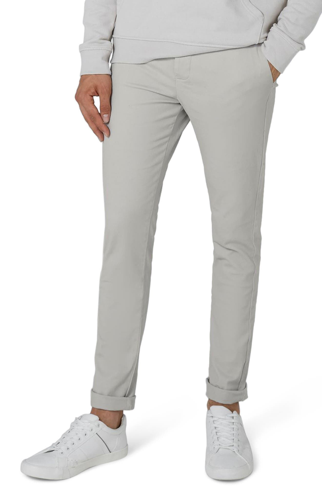 Stretch Skinny Fit Chinos,                             Main thumbnail 1, color,                             020