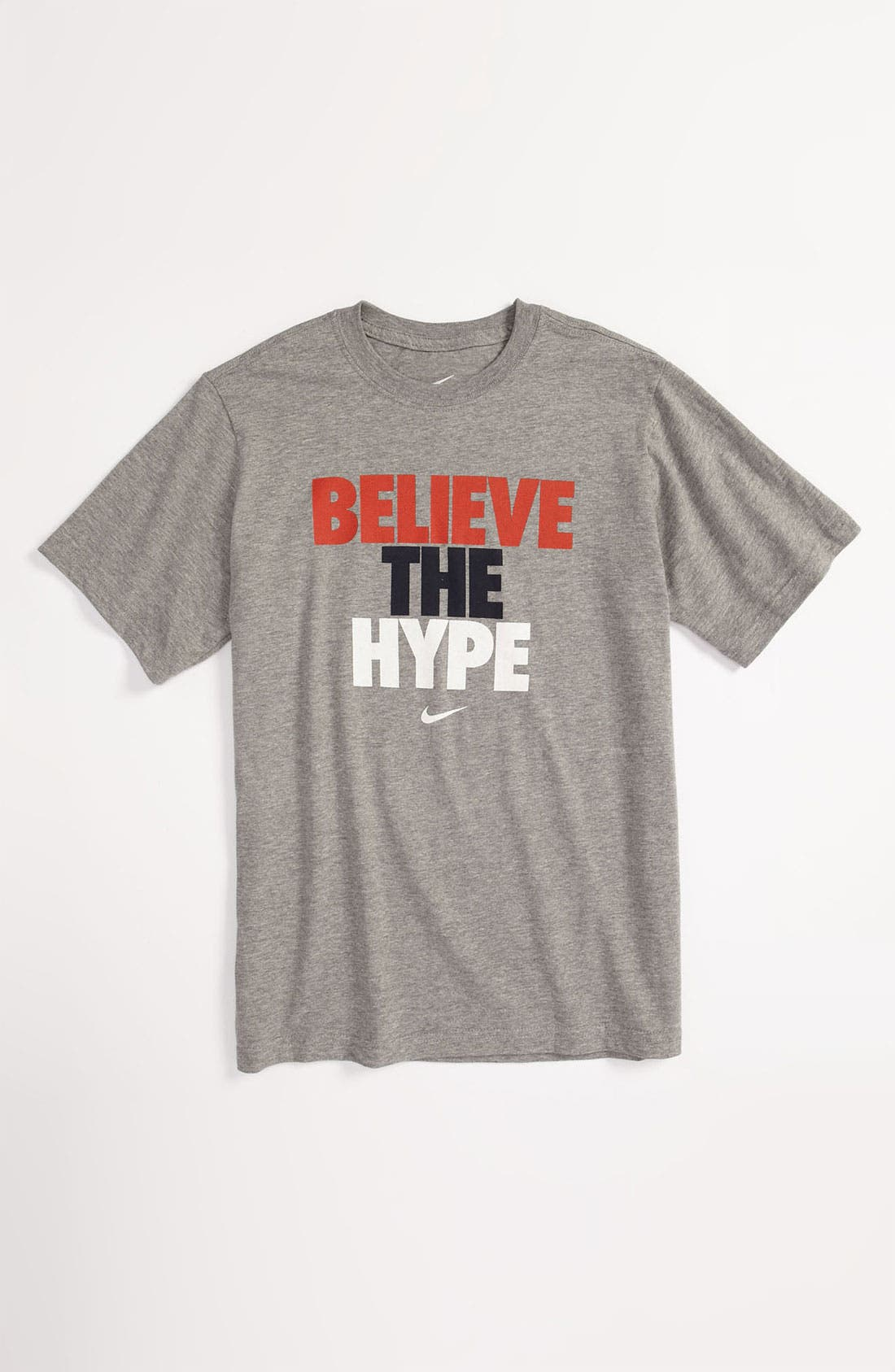 'Believe the Hype' Tee,                             Main thumbnail 1, color,                             063