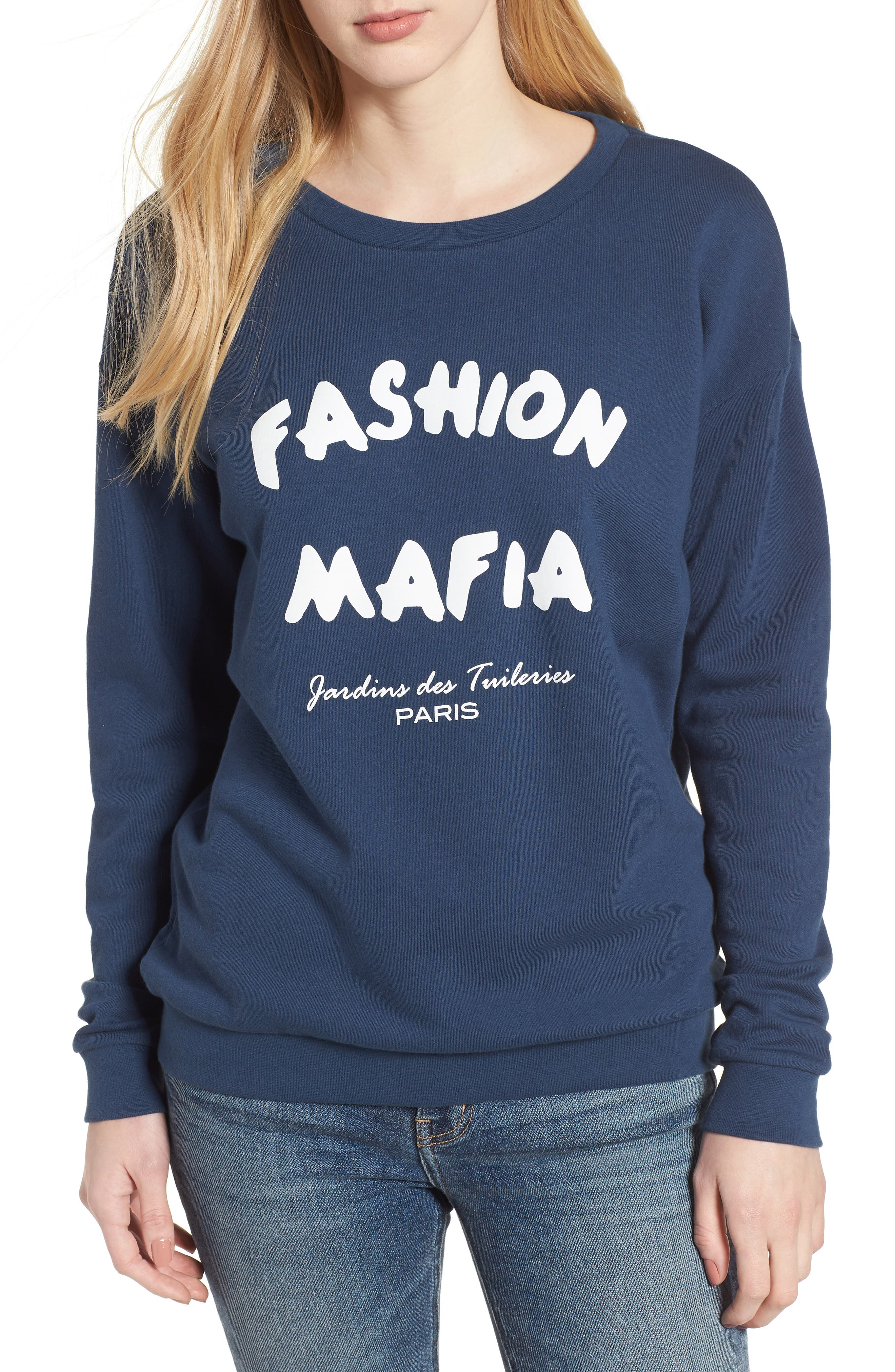 Alexa - Fashion Mafia Sweatshirt,                             Main thumbnail 1, color,