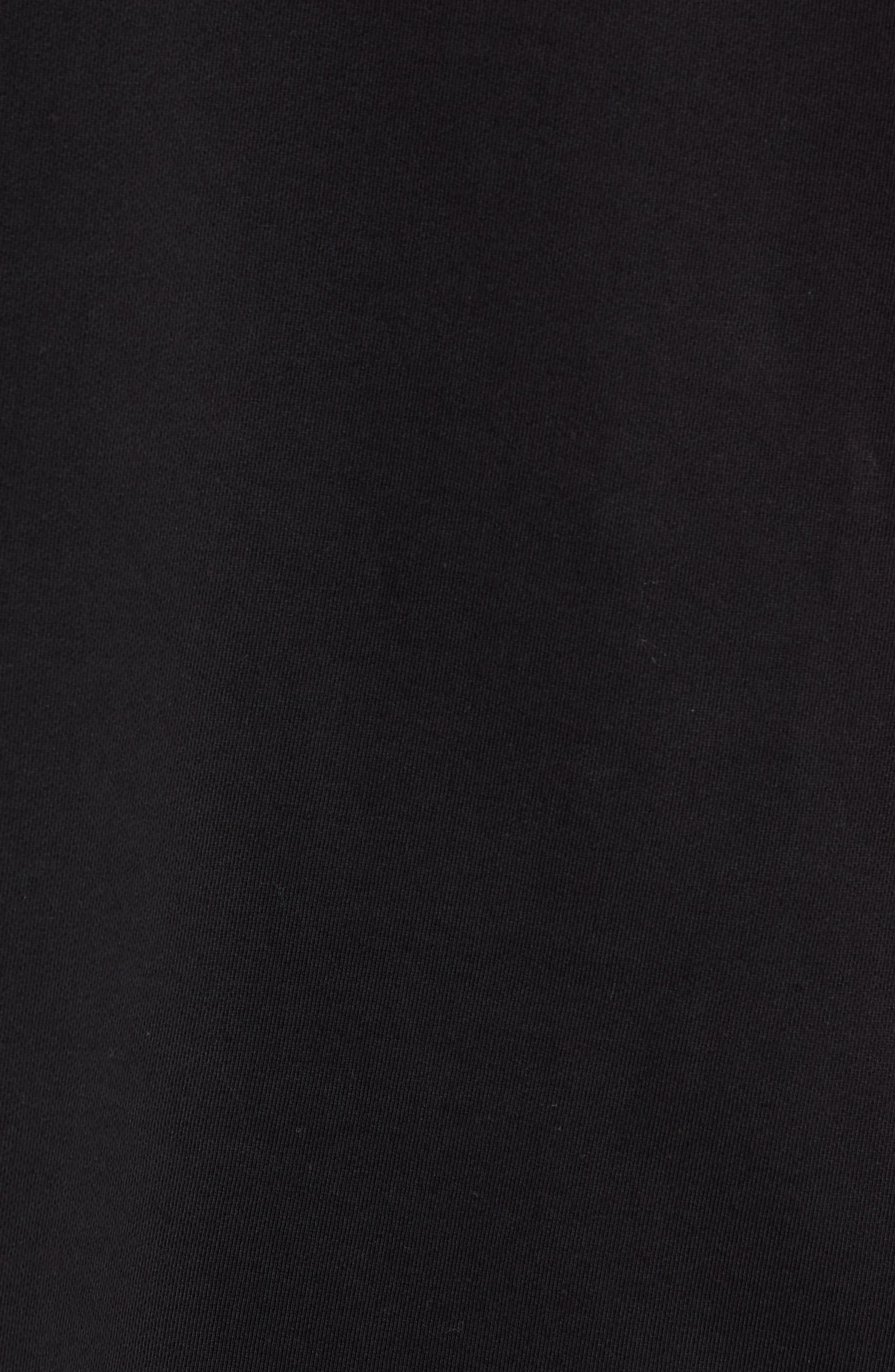 S-DRIVE-LS-XA Embroidered Hooded Sweatshirt,                             Alternate thumbnail 5, color,                             BLACK