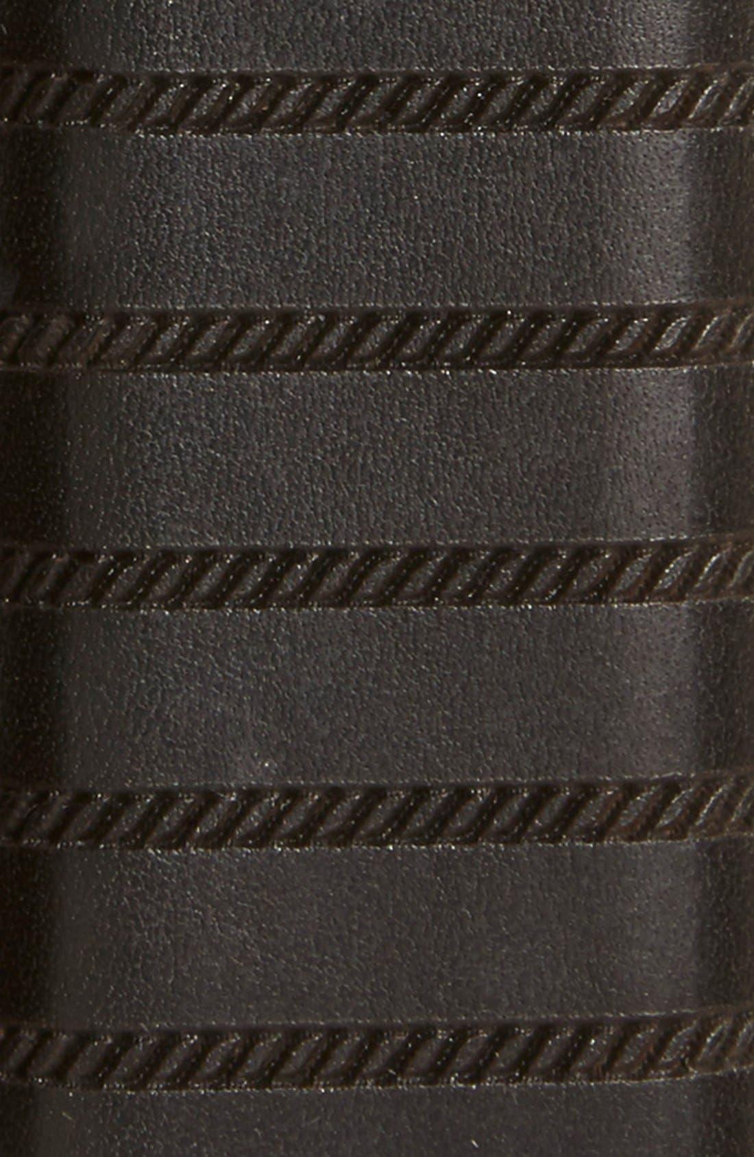 'Dara' Leather Belt,                             Alternate thumbnail 2, color,                             001