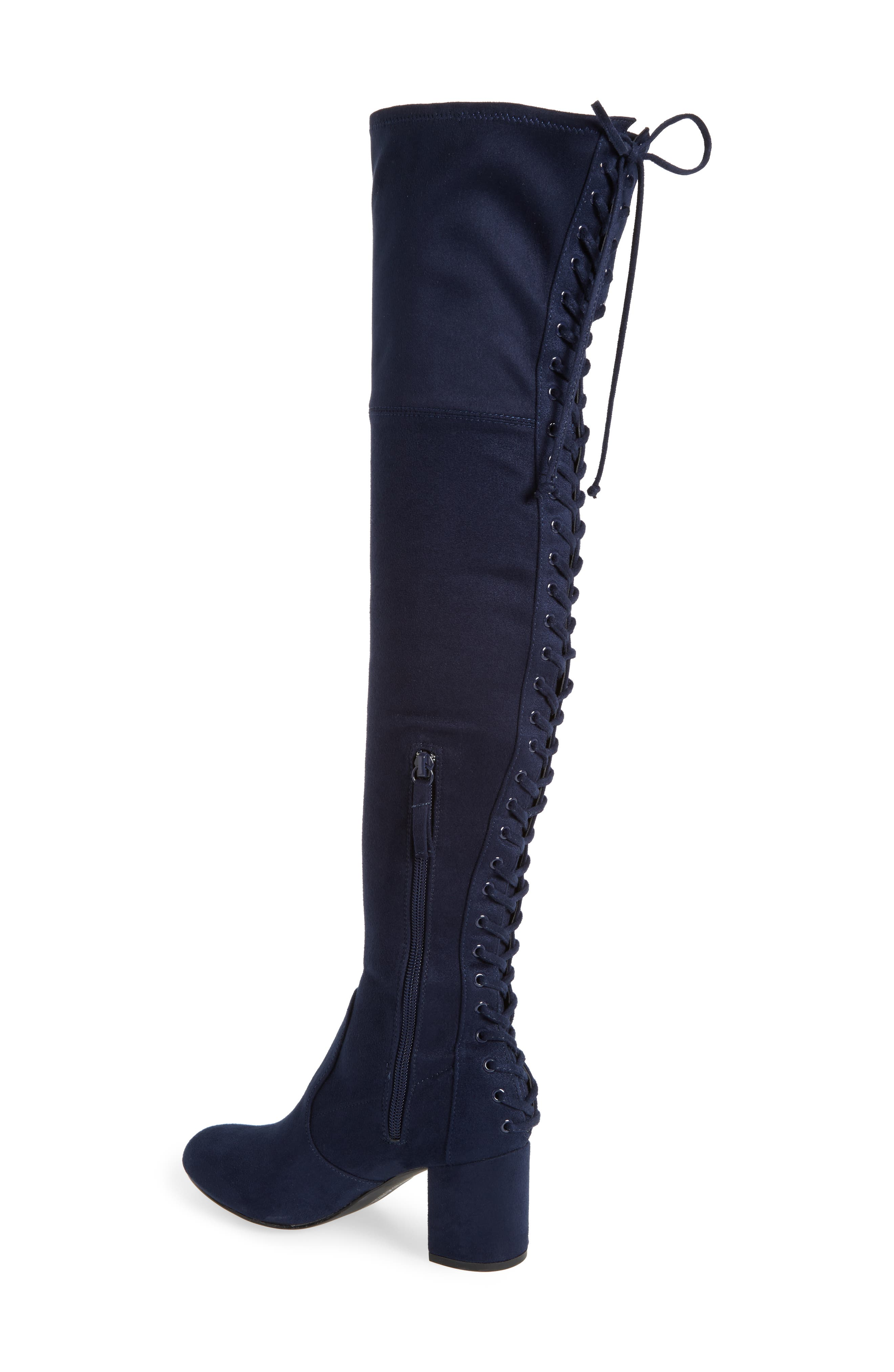 Ollie Over the Knee Boot,                             Alternate thumbnail 6, color,