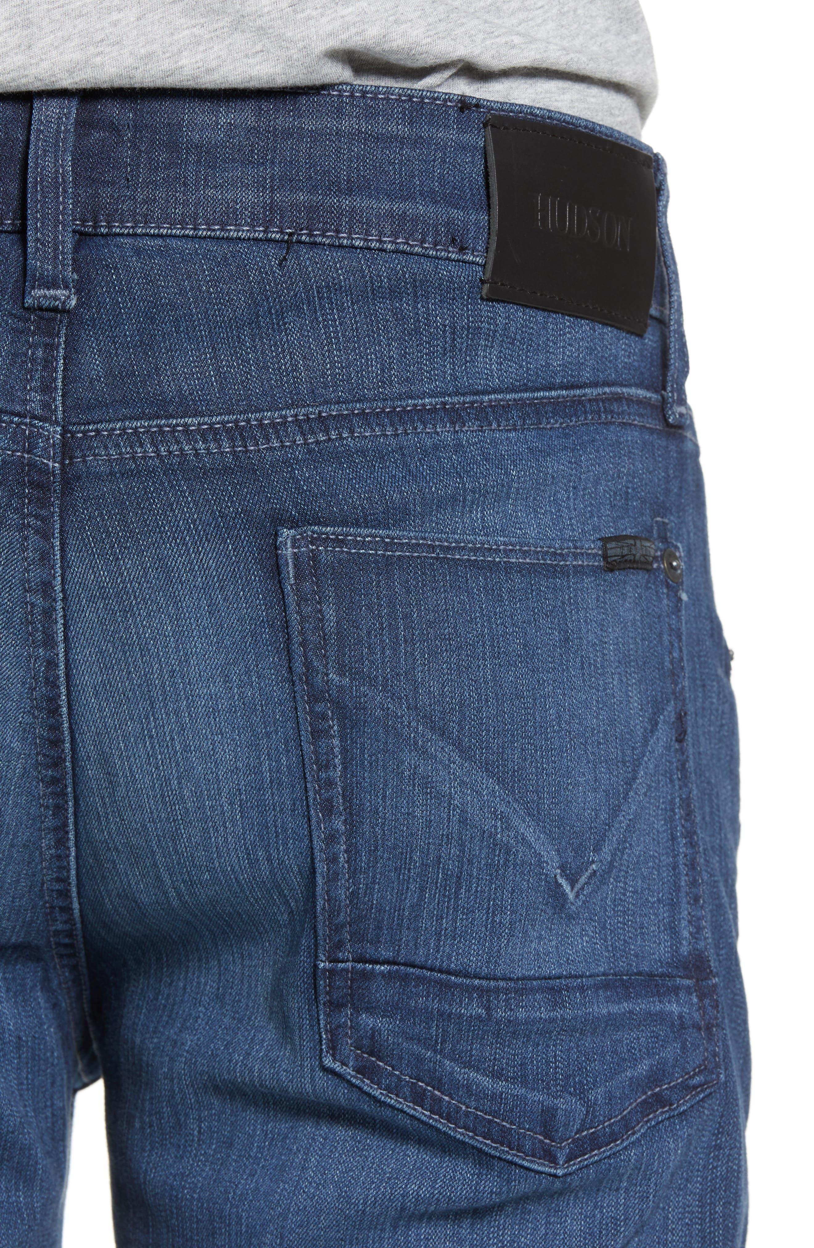 Byron Slim Straight Leg Jeans,                             Alternate thumbnail 4, color,                             403