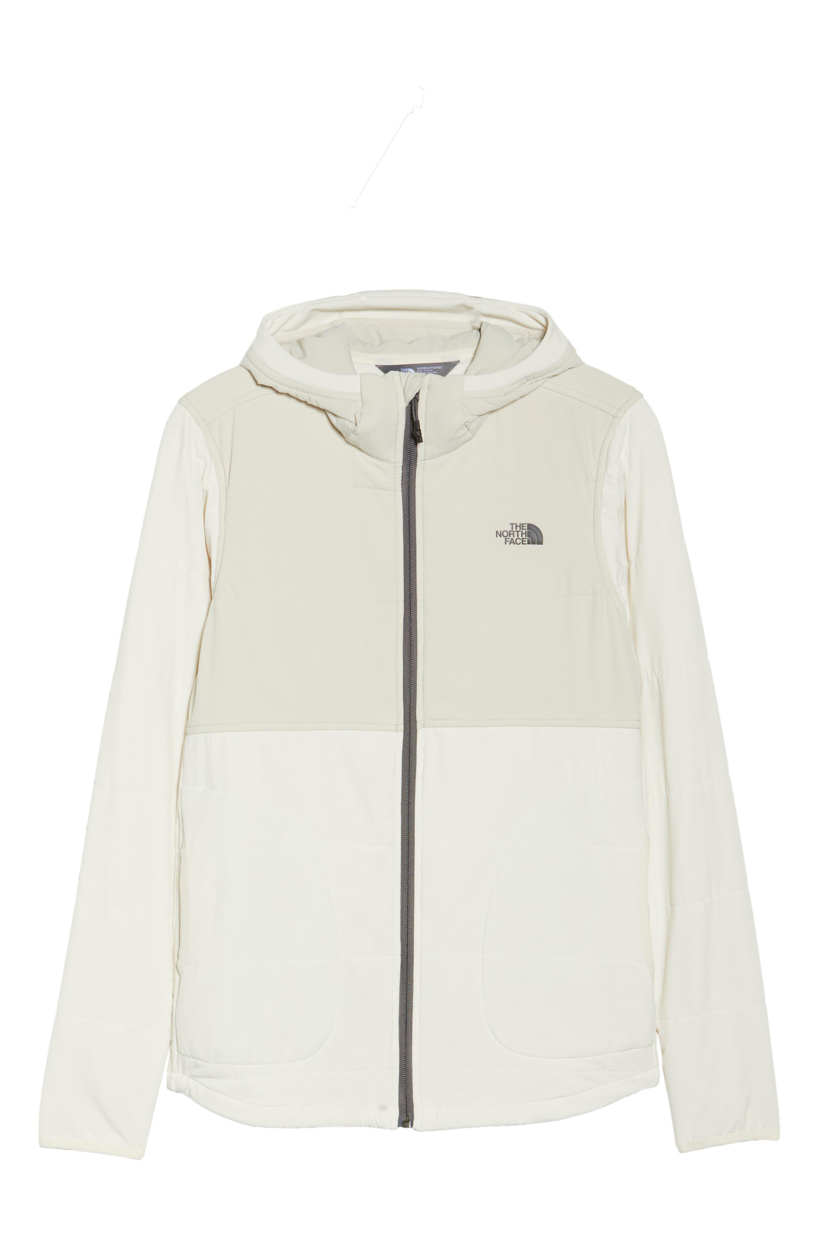 Mountain Sweatshirt Insulated Hooded Jacket,                             Alternate thumbnail 6, color,                             100