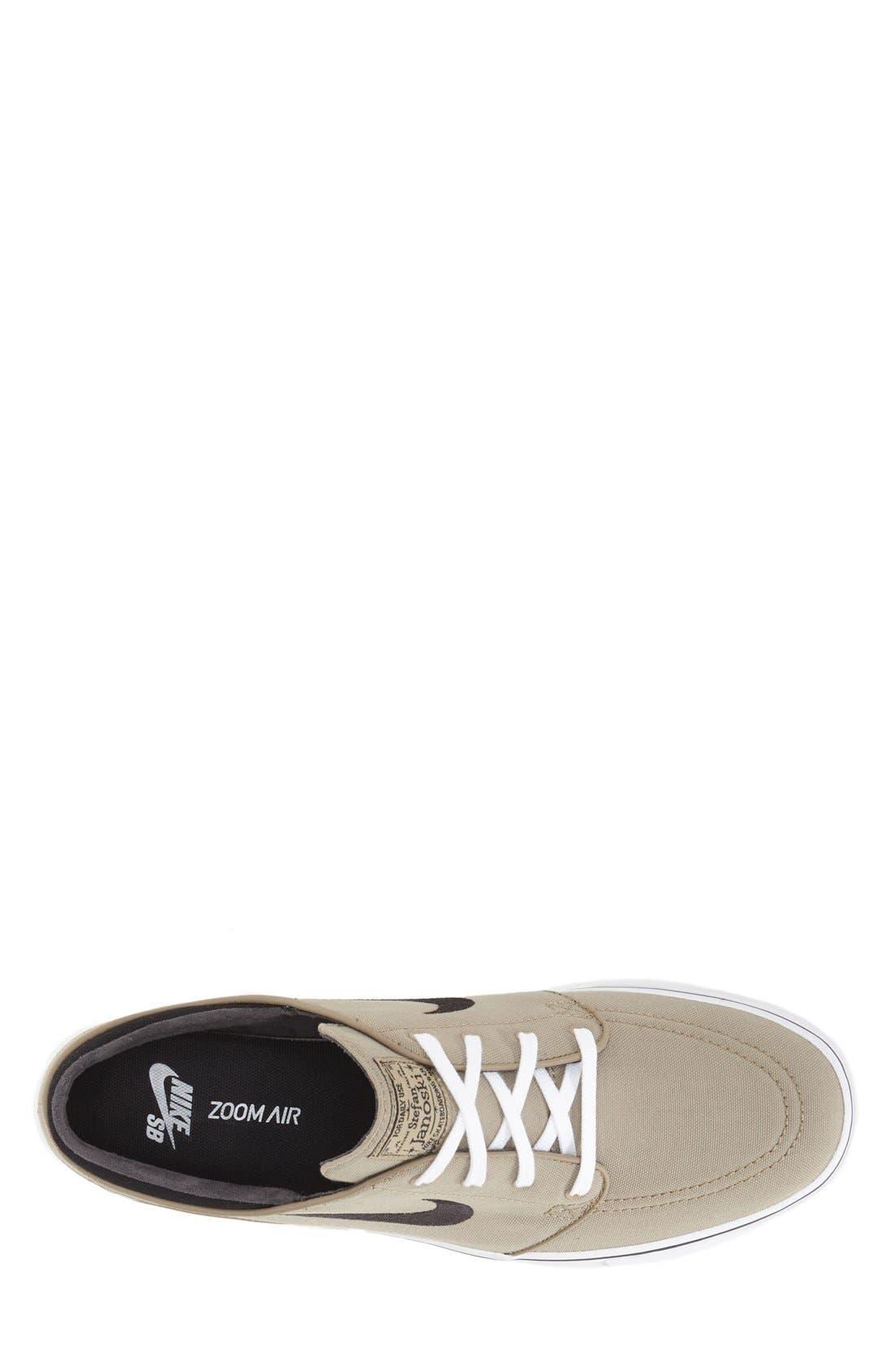 Zoom - Stefan Janoski SB Canvas Skate Shoe,                             Alternate thumbnail 113, color,