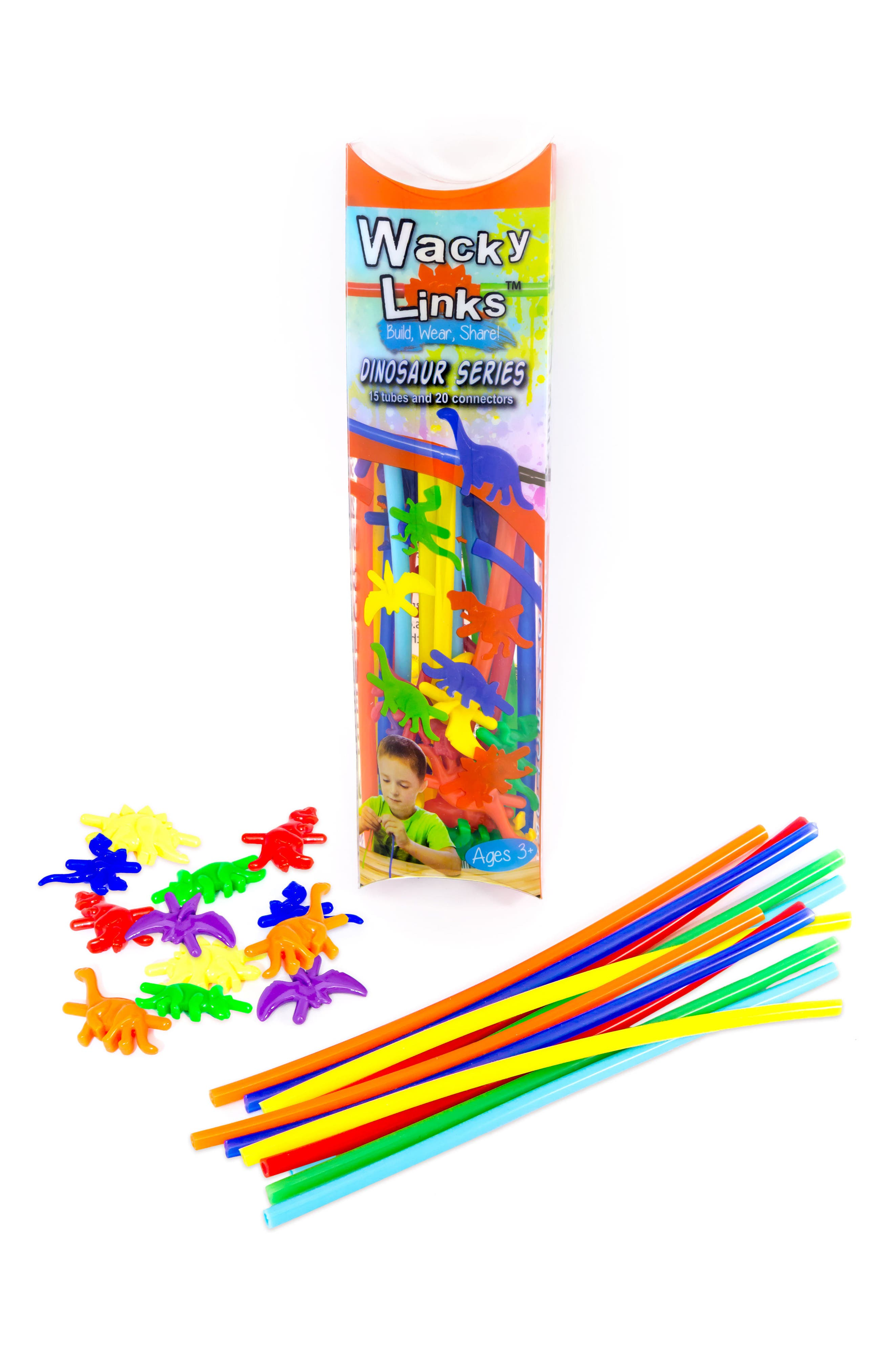 35-Piece Dinosaur Series Linking Toy Kit,                             Main thumbnail 1, color,
