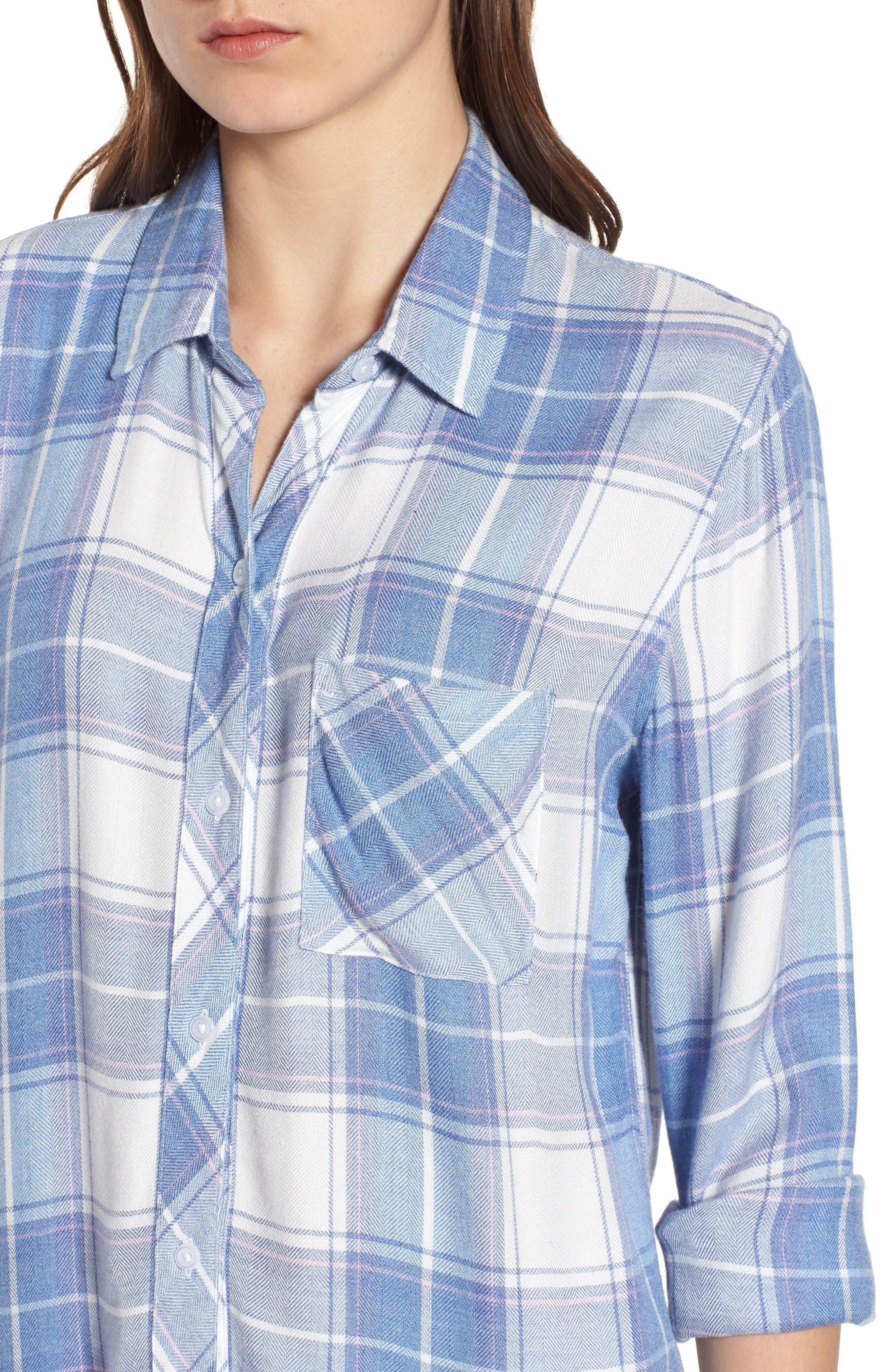 Hunter Plaid Shirt,                             Alternate thumbnail 449, color,