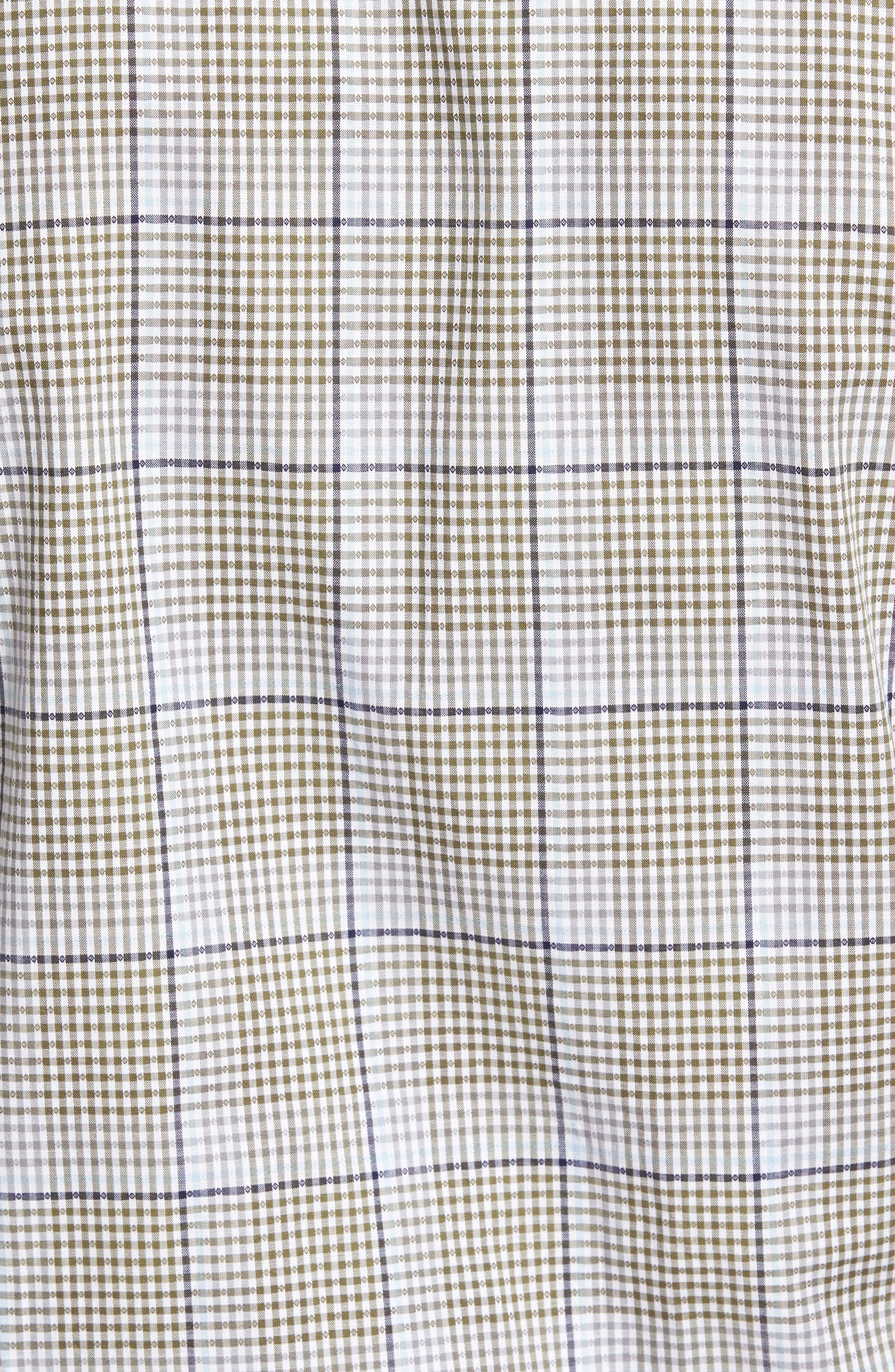 Diamond Regular Fit Dobby Check Sport Shirt,                             Alternate thumbnail 5, color,                             300