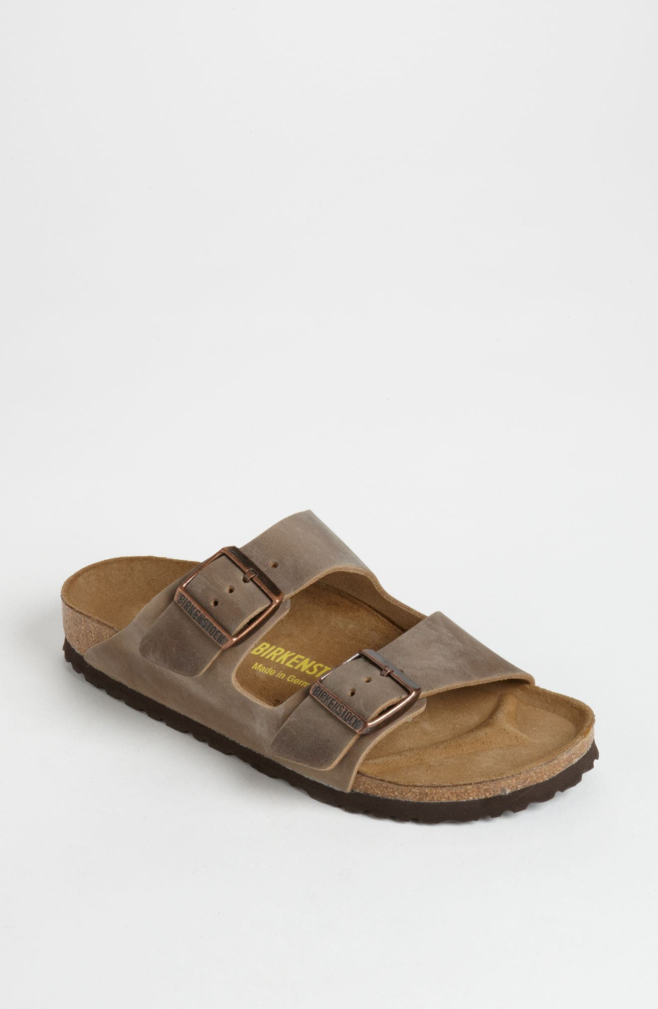 Arizona Sandal,                             Alternate thumbnail 8, color,                             TOBACCO BROWN OILED