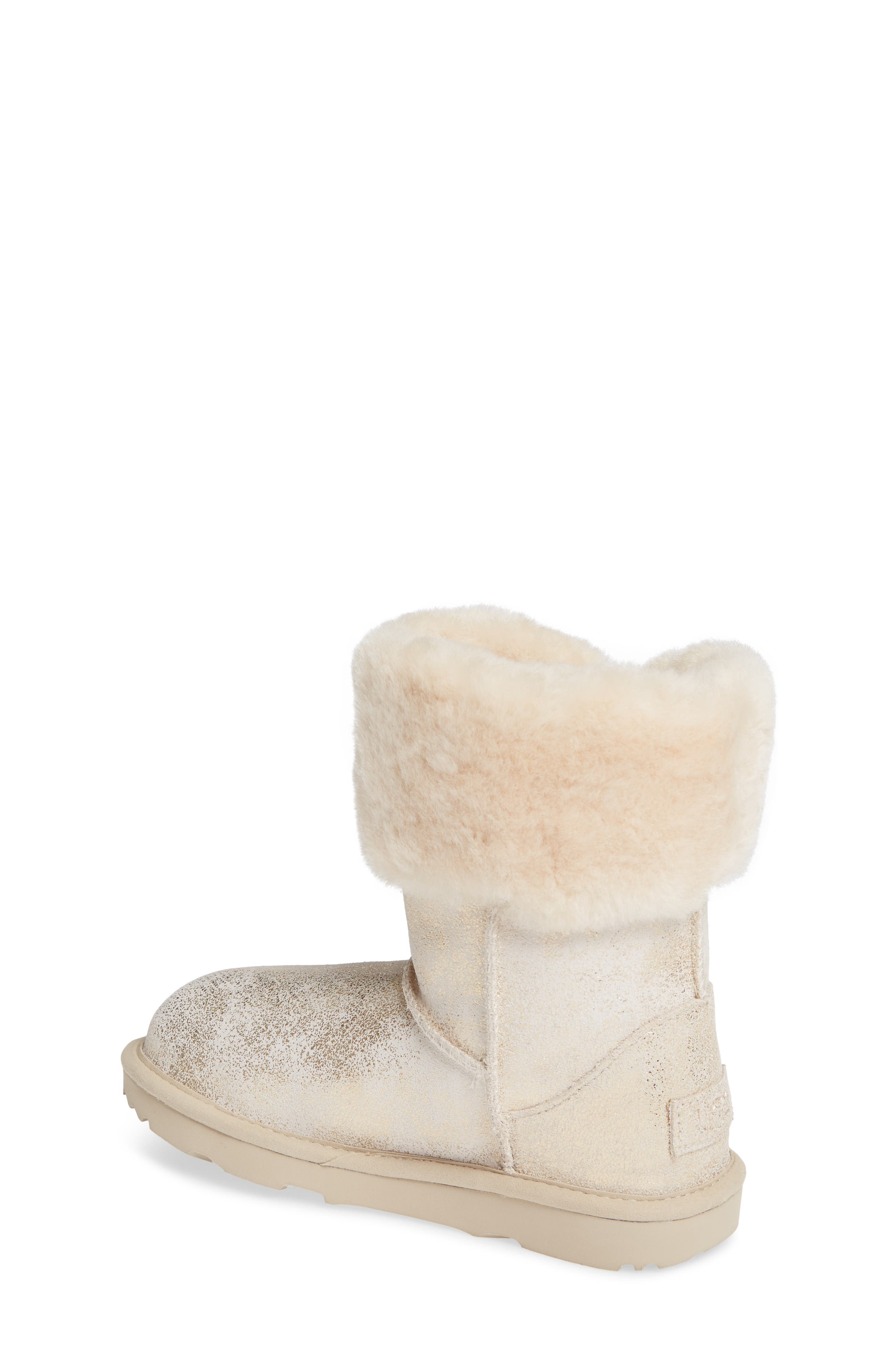Ramona II Classic Short Boot,                             Alternate thumbnail 2, color,                             GOLD
