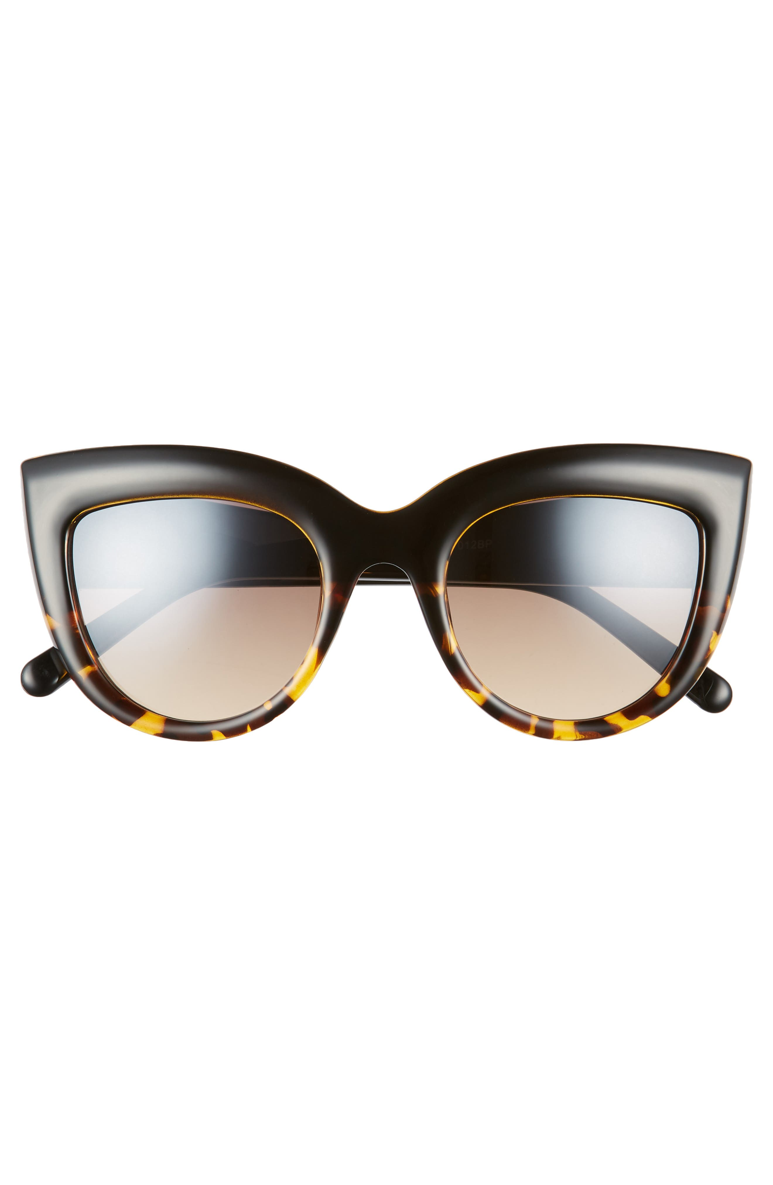 60mm Two-Tone Cat Eye Sunglasses,                             Alternate thumbnail 3, color,