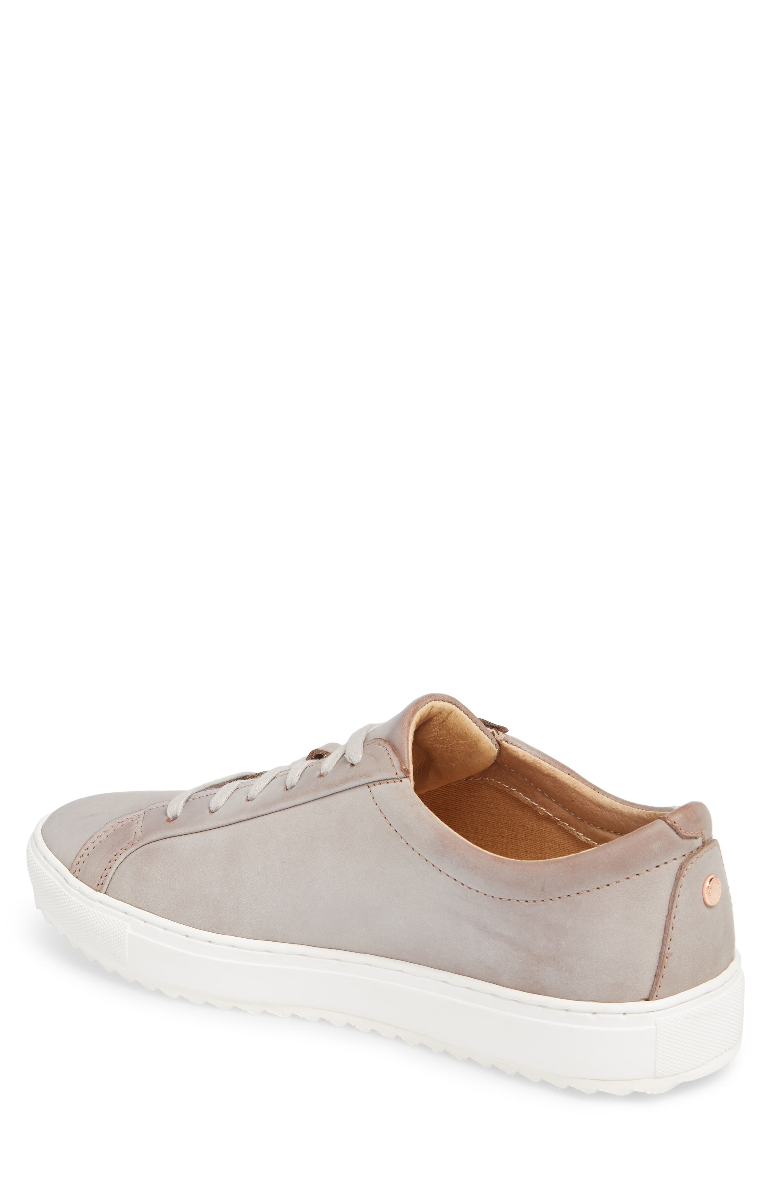 Kennedy Lugged Sneaker,                             Alternate thumbnail 2, color,                             SAND STONE LEATHER