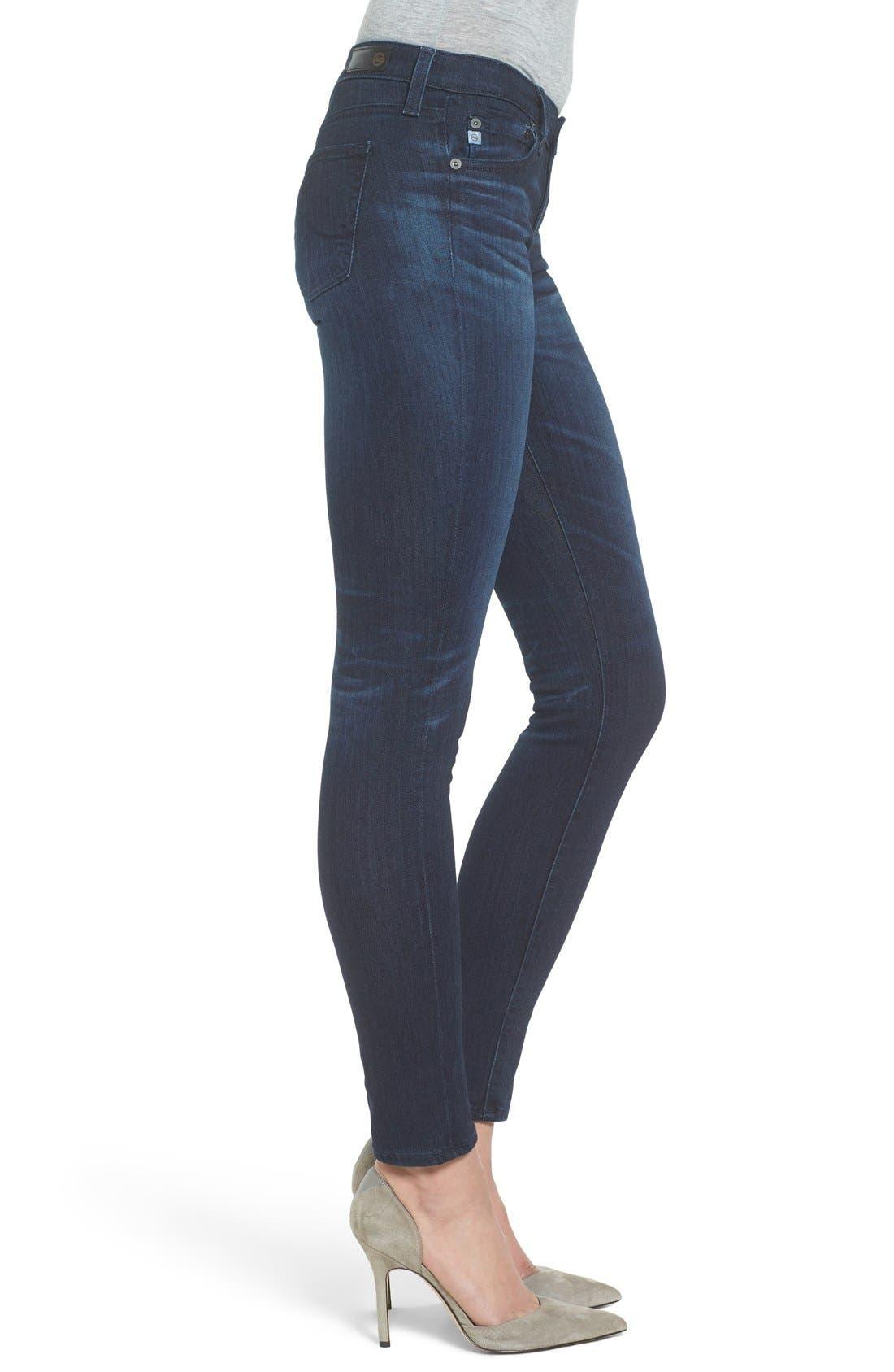 'The Stilt' Cigarette Skinny Jeans,                             Alternate thumbnail 17, color,