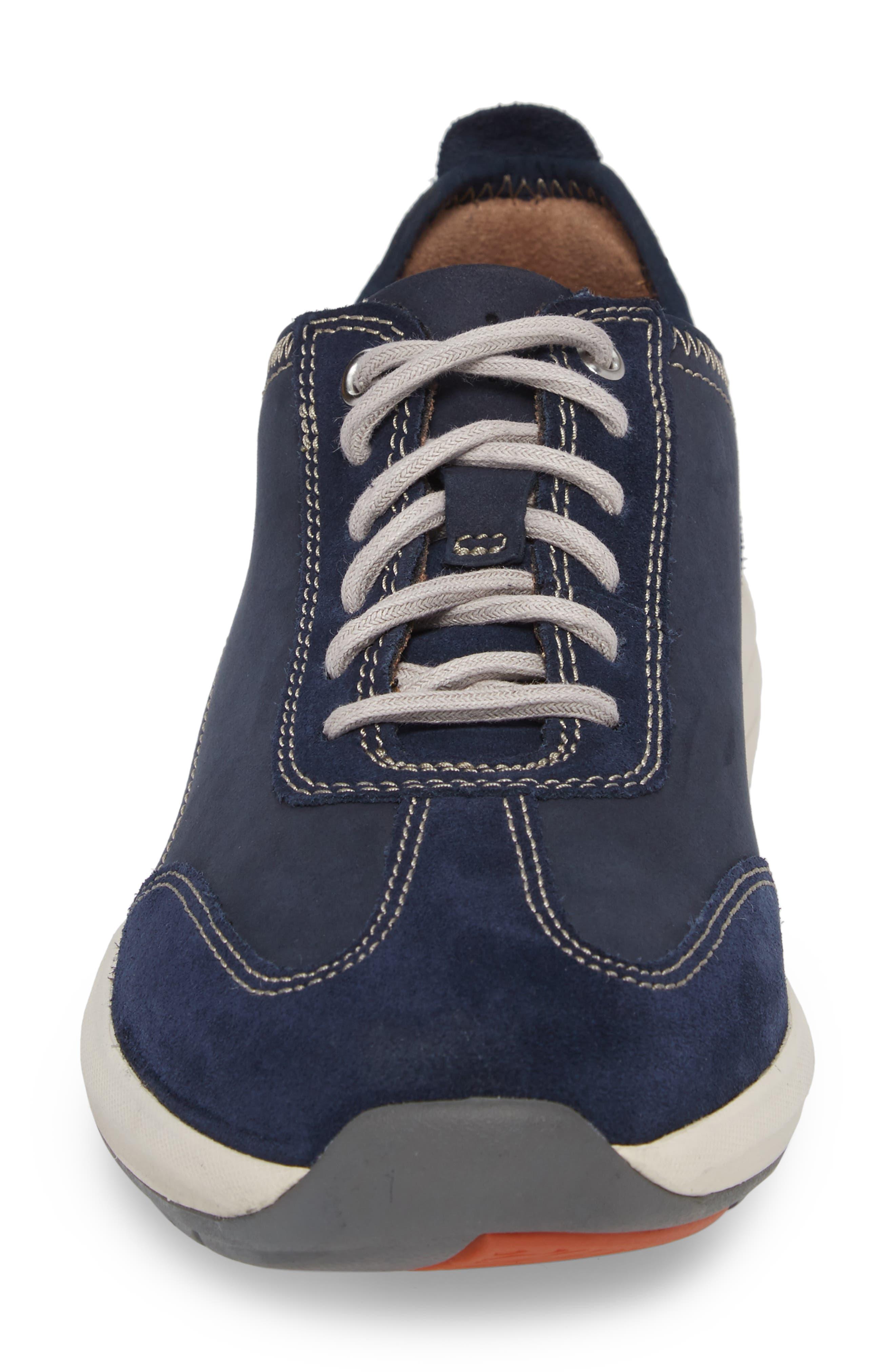 Clarks<sup>®</sup> Un Coast Low Top Sneaker,                             Alternate thumbnail 8, color,
