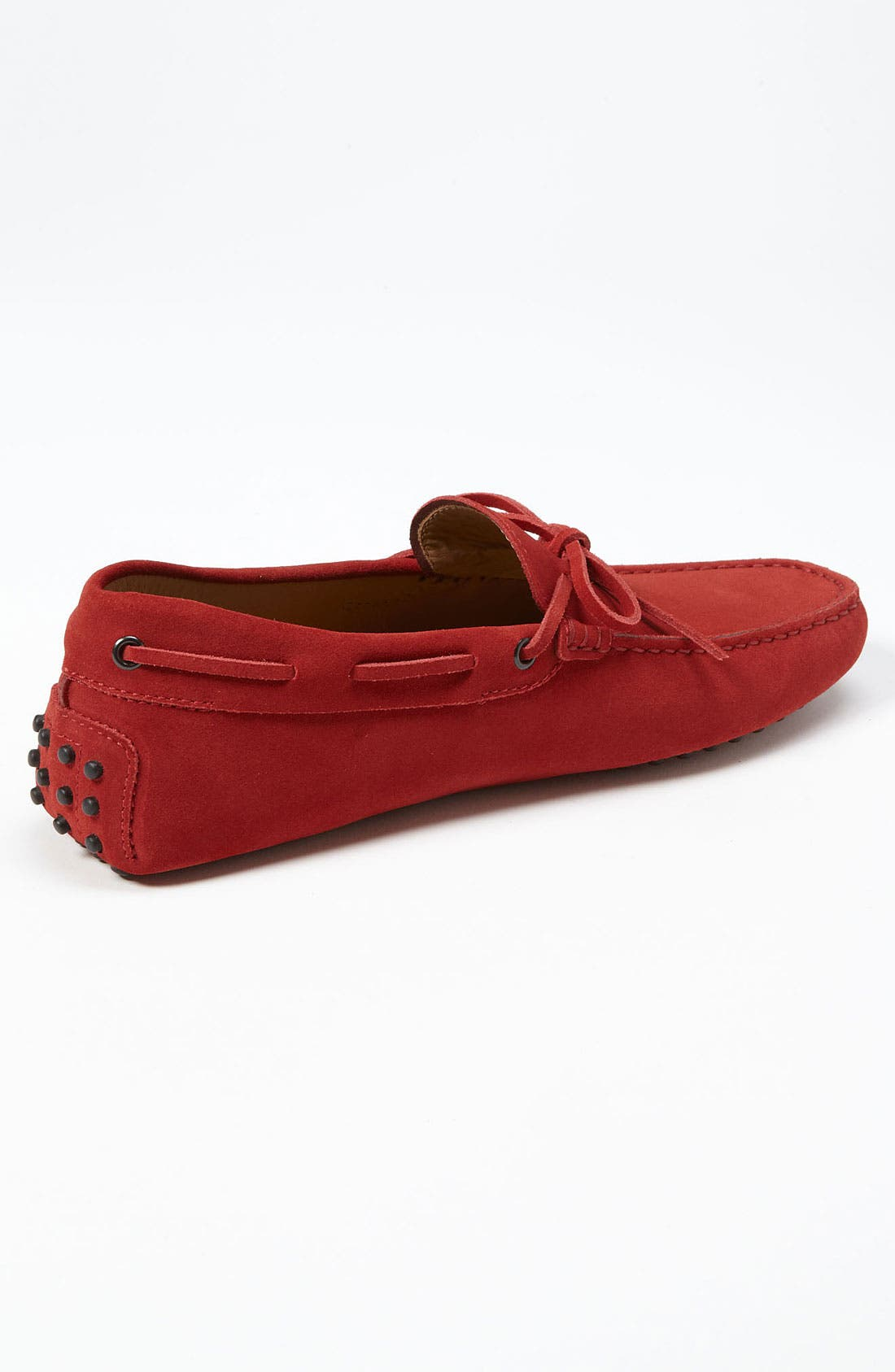 Gommini Tie Front Driving Moccasin,                             Alternate thumbnail 62, color,