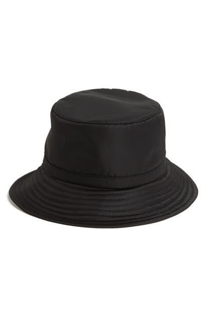 Eric Javits RAIN BUCKET HAT - BLACK