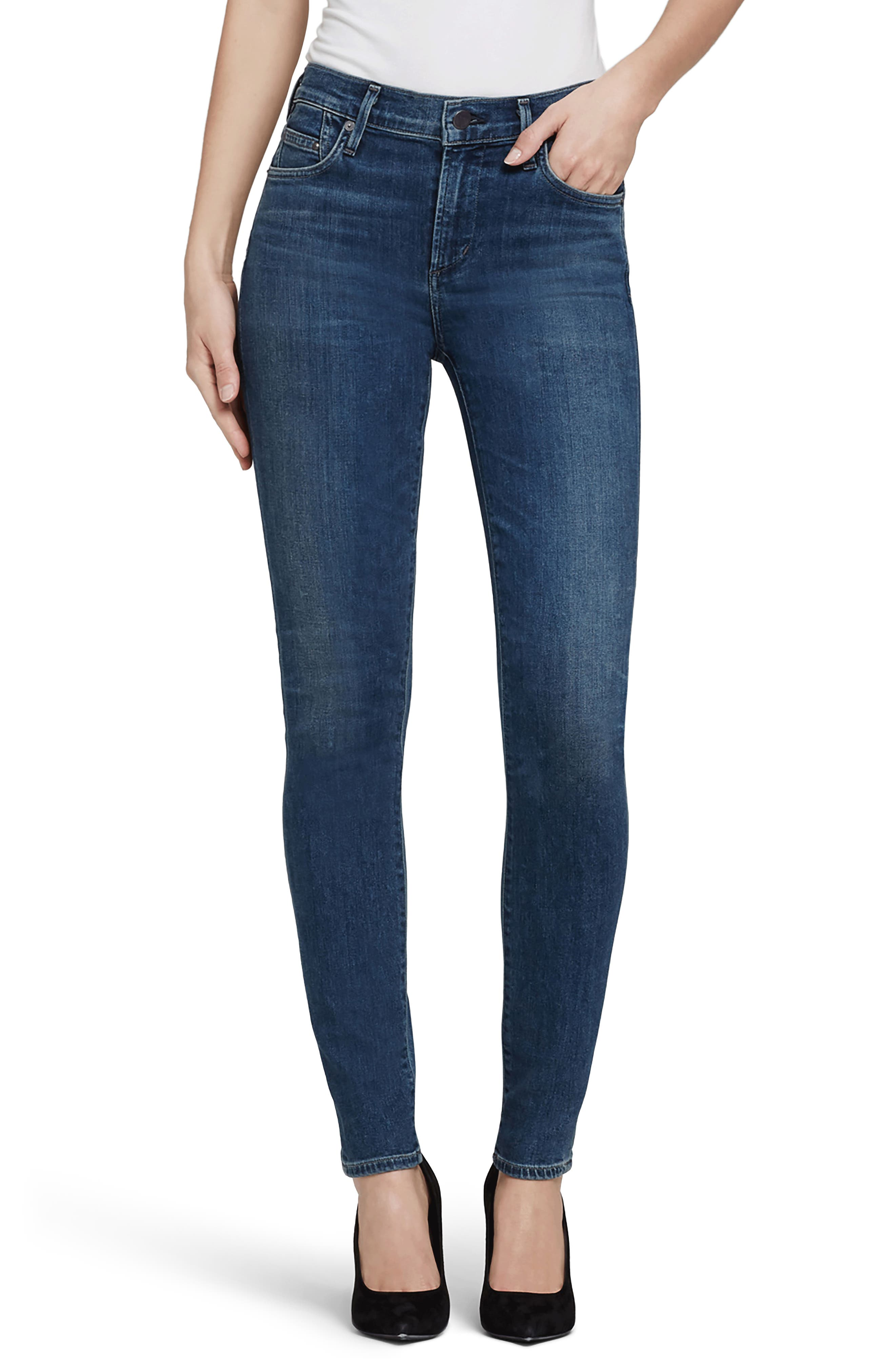 CITIZENS OF HUMANITY,                             Rocket High Waist Skinny Jeans,                             Main thumbnail 1, color,                             430