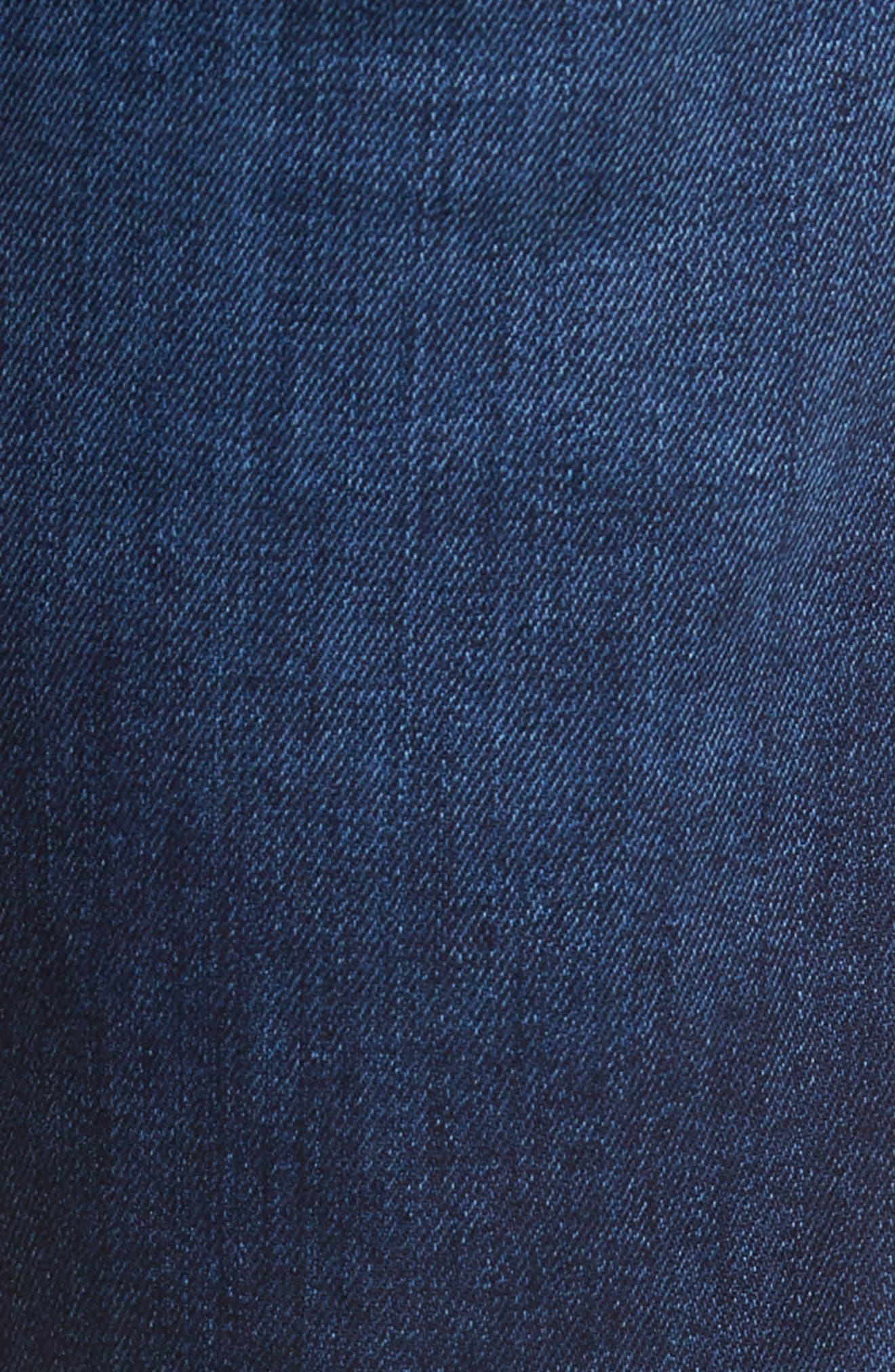 708 Stretch Slim Fit Jeans,                             Alternate thumbnail 5, color,                             BLUE