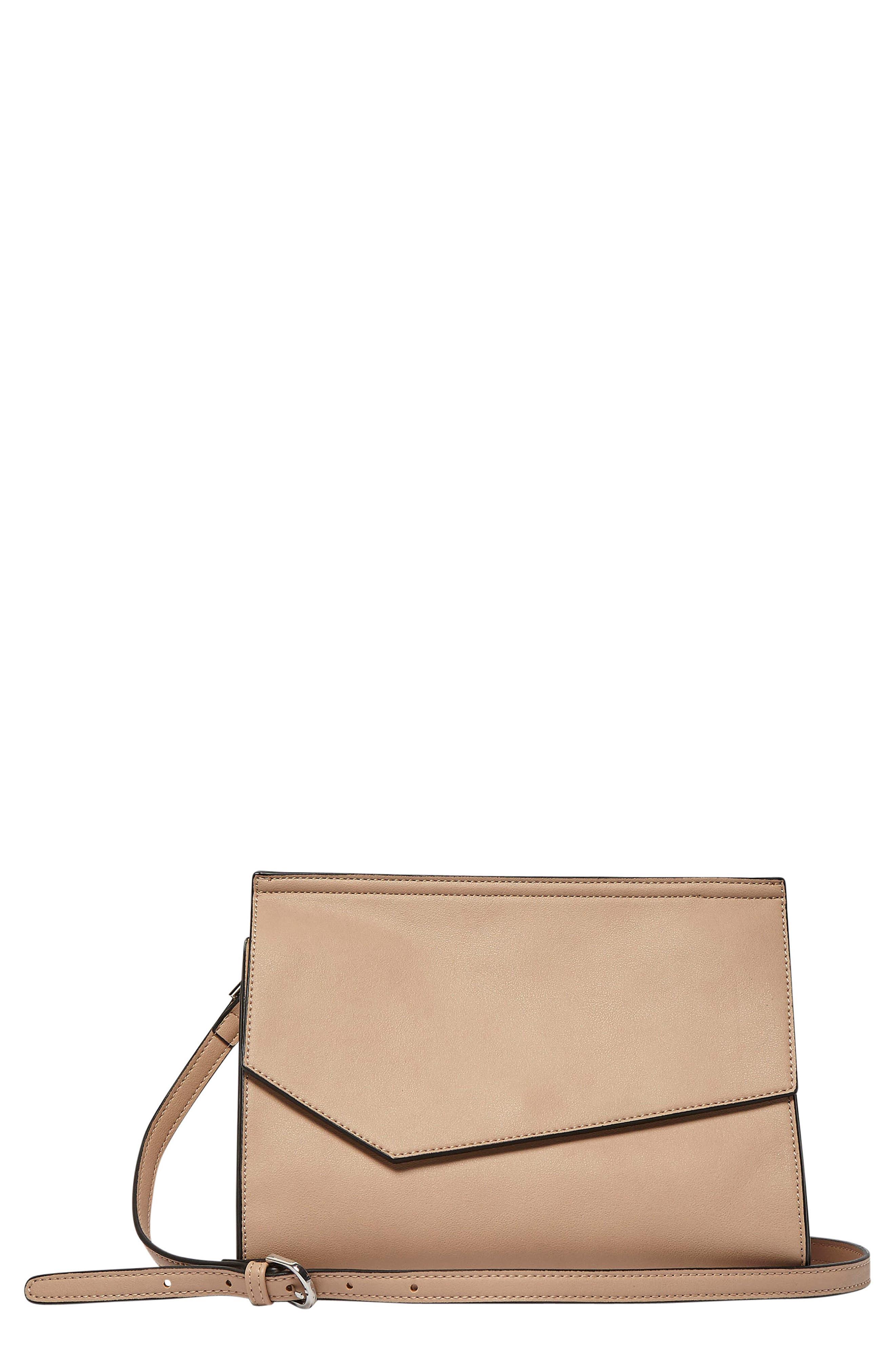 Shimmer Vegan Leather Shoulder Bag,                             Main thumbnail 3, color,