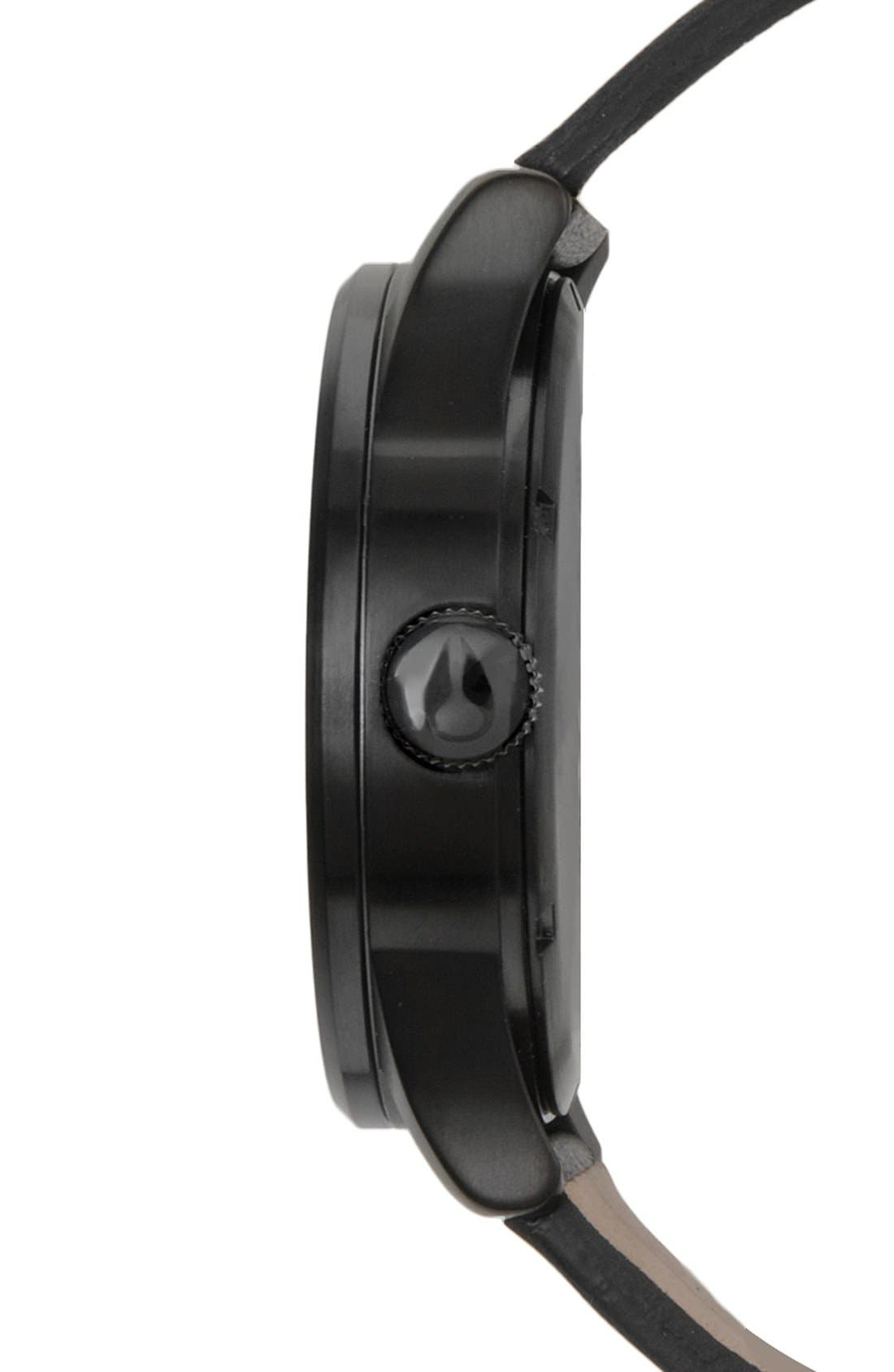 The Sentry Leather Strap Watch, 42mm,                             Alternate thumbnail 70, color,