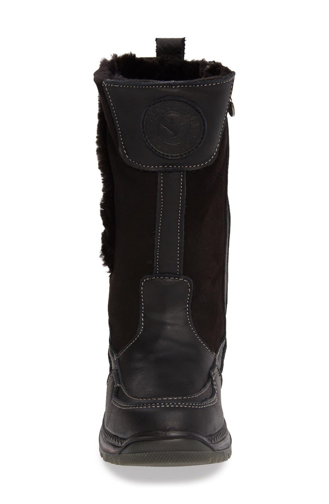 Seraphine Genuine Shearling Waterproof Winter Boot,                             Alternate thumbnail 7, color,                             001