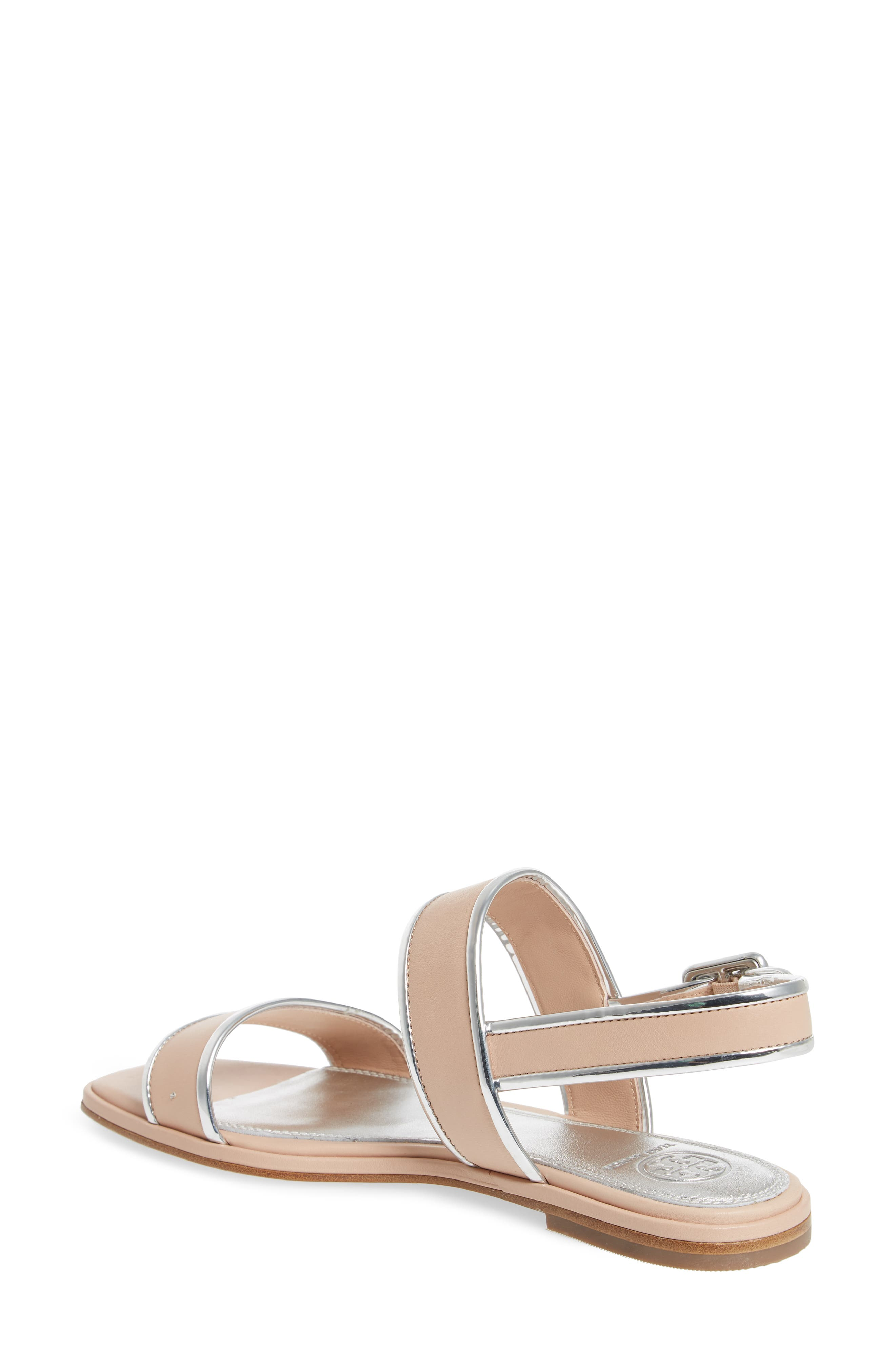 Delaney Double Strap Sandal,                             Alternate thumbnail 8, color,