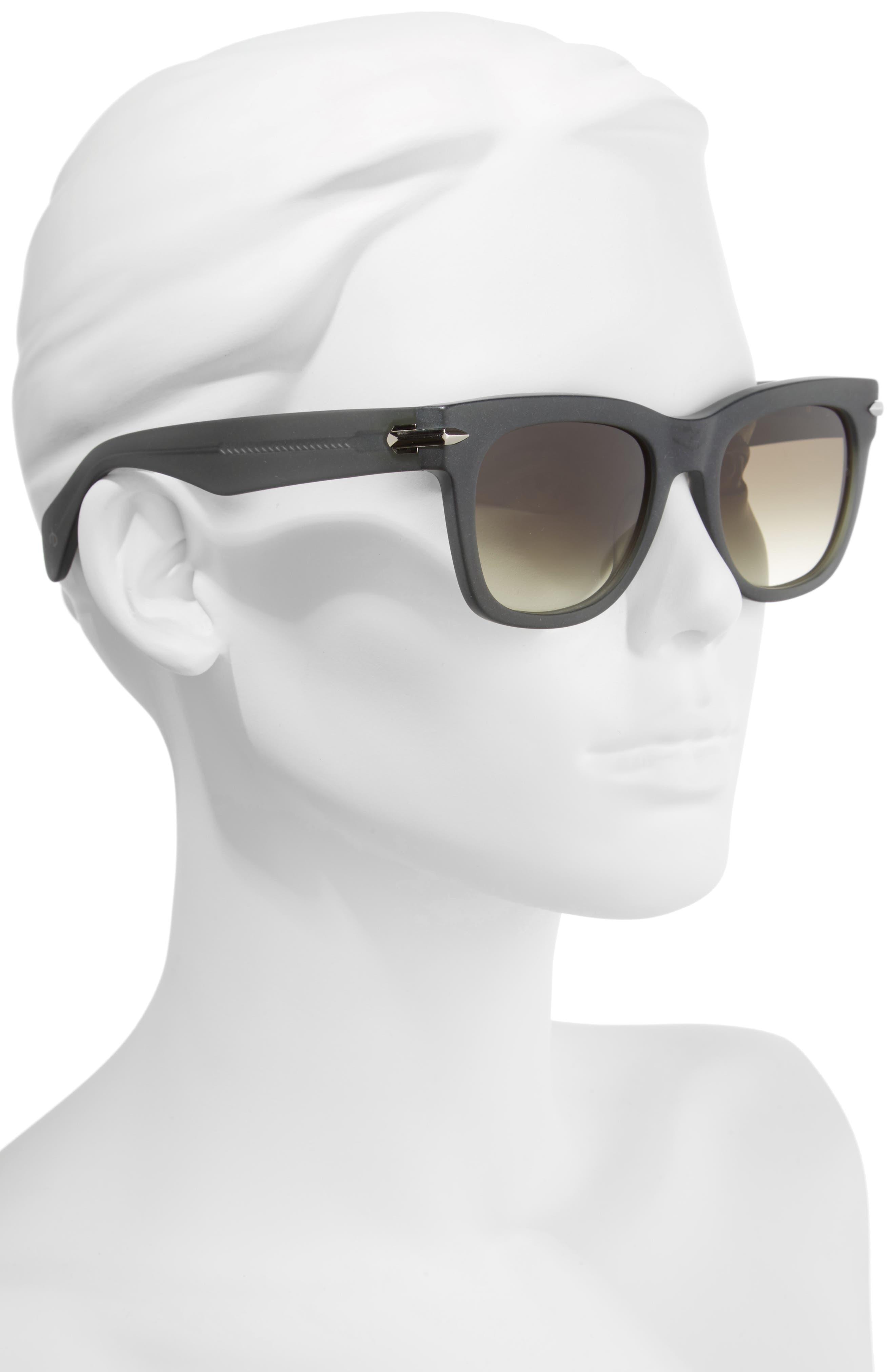 54mm Polarized Sunglasses,                             Alternate thumbnail 2, color,                             KHAKI